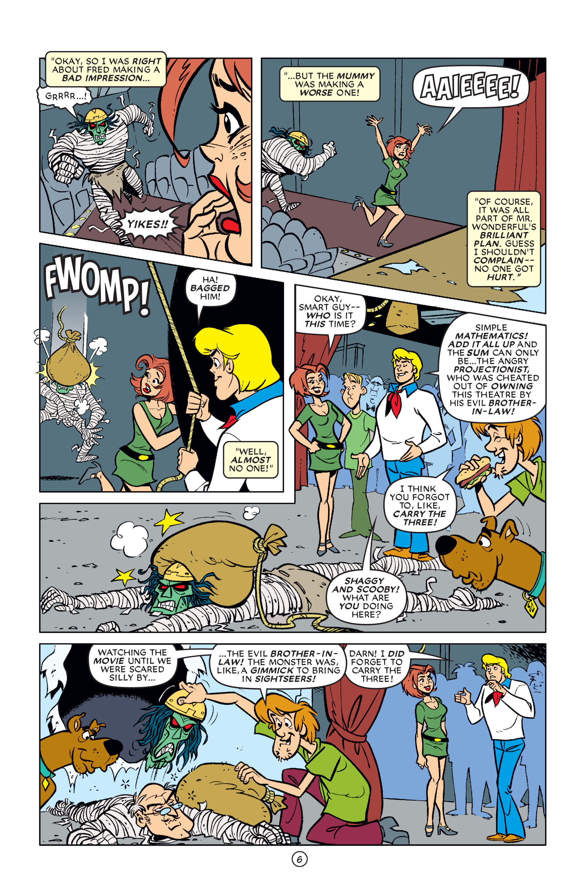 Read online Scooby-Doo (1997) comic -  Issue #61 - 7