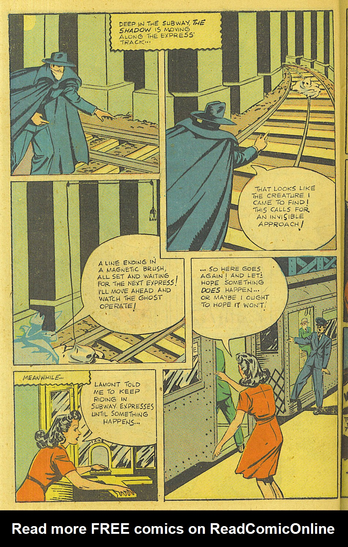 Read online Shadow Comics comic -  Issue #71 - 41