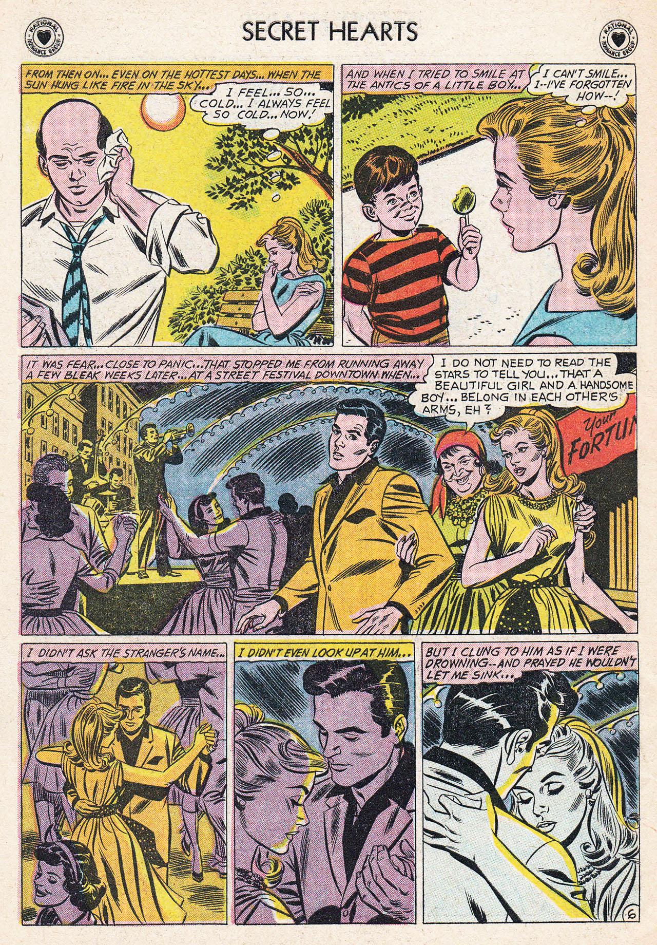 Read online Secret Hearts comic -  Issue #75 - 32