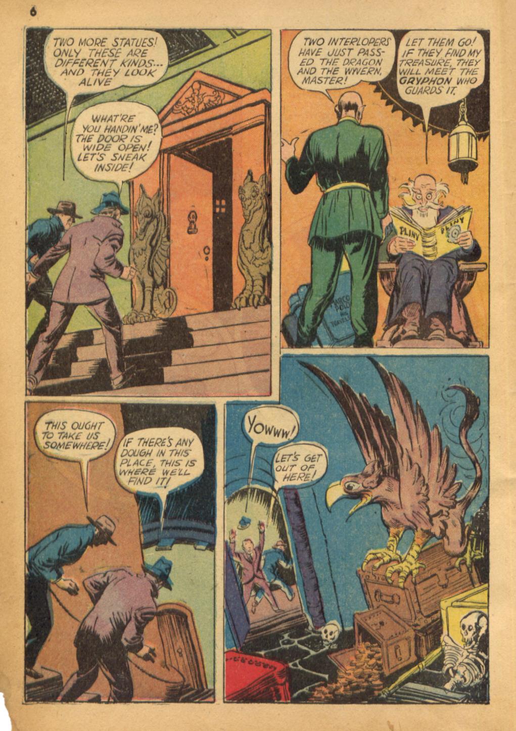 Read online Shadow Comics comic -  Issue #32 - 7