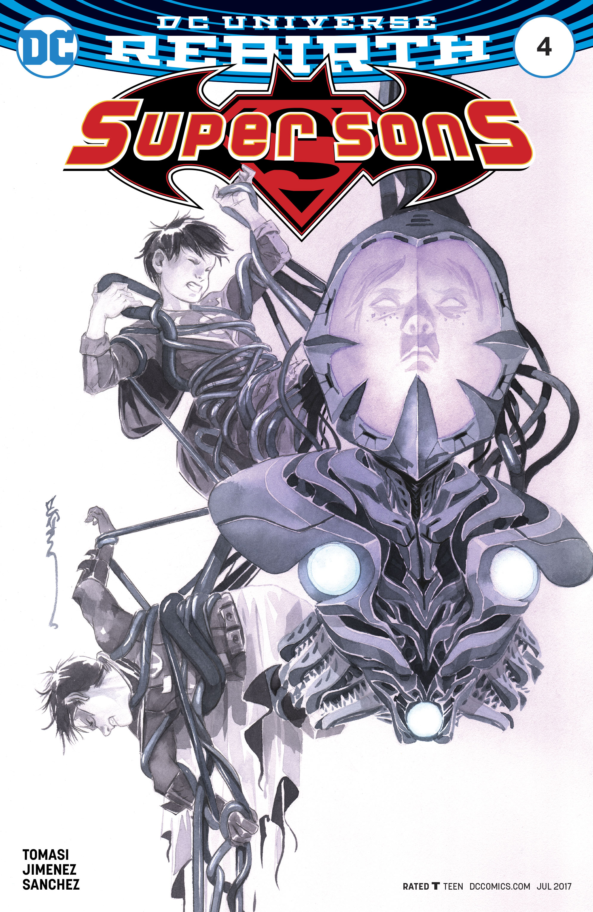 Read online Super Sons comic -  Issue #4 - 2