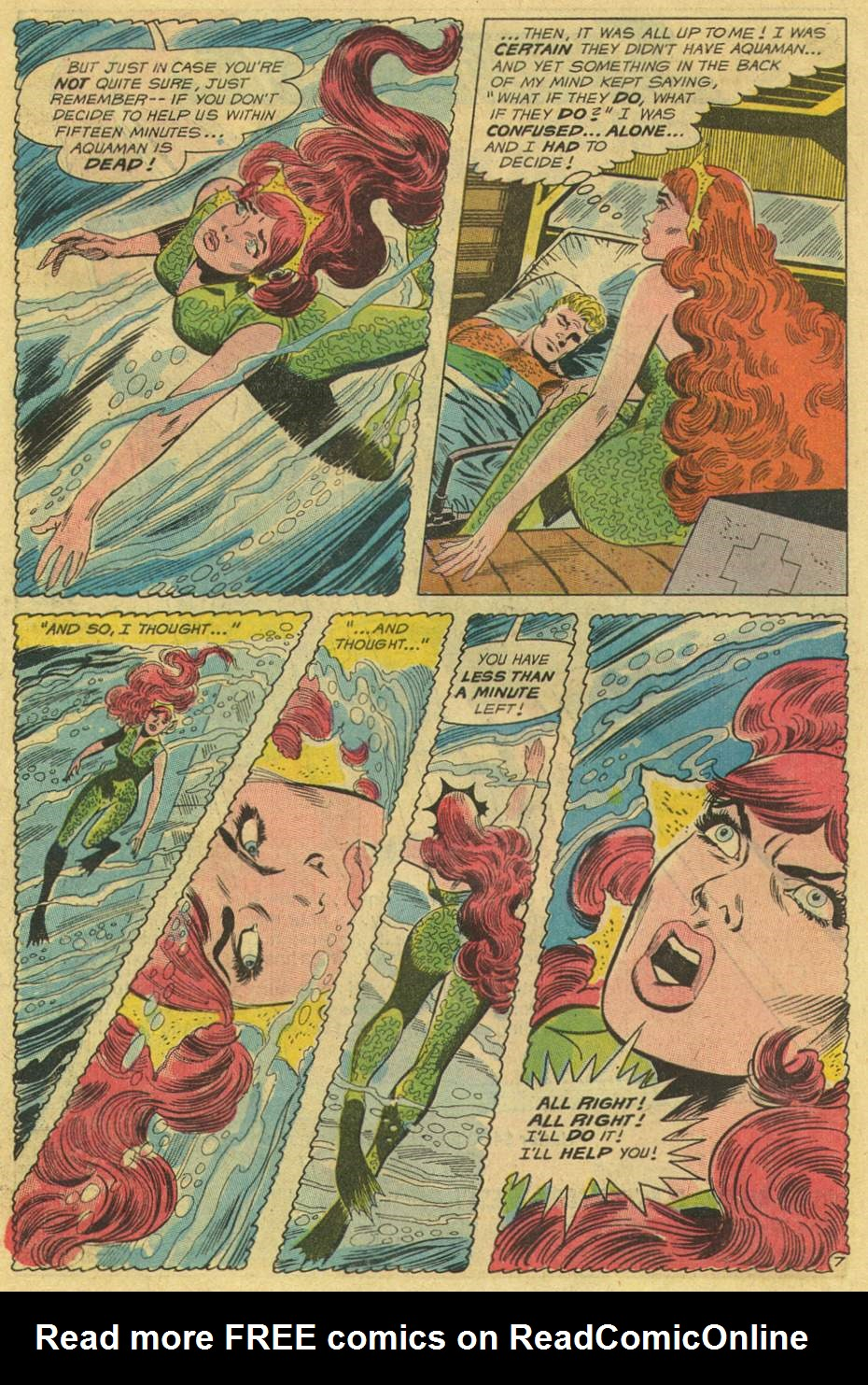 Read online Aquaman (1962) comic -  Issue #46 - 10