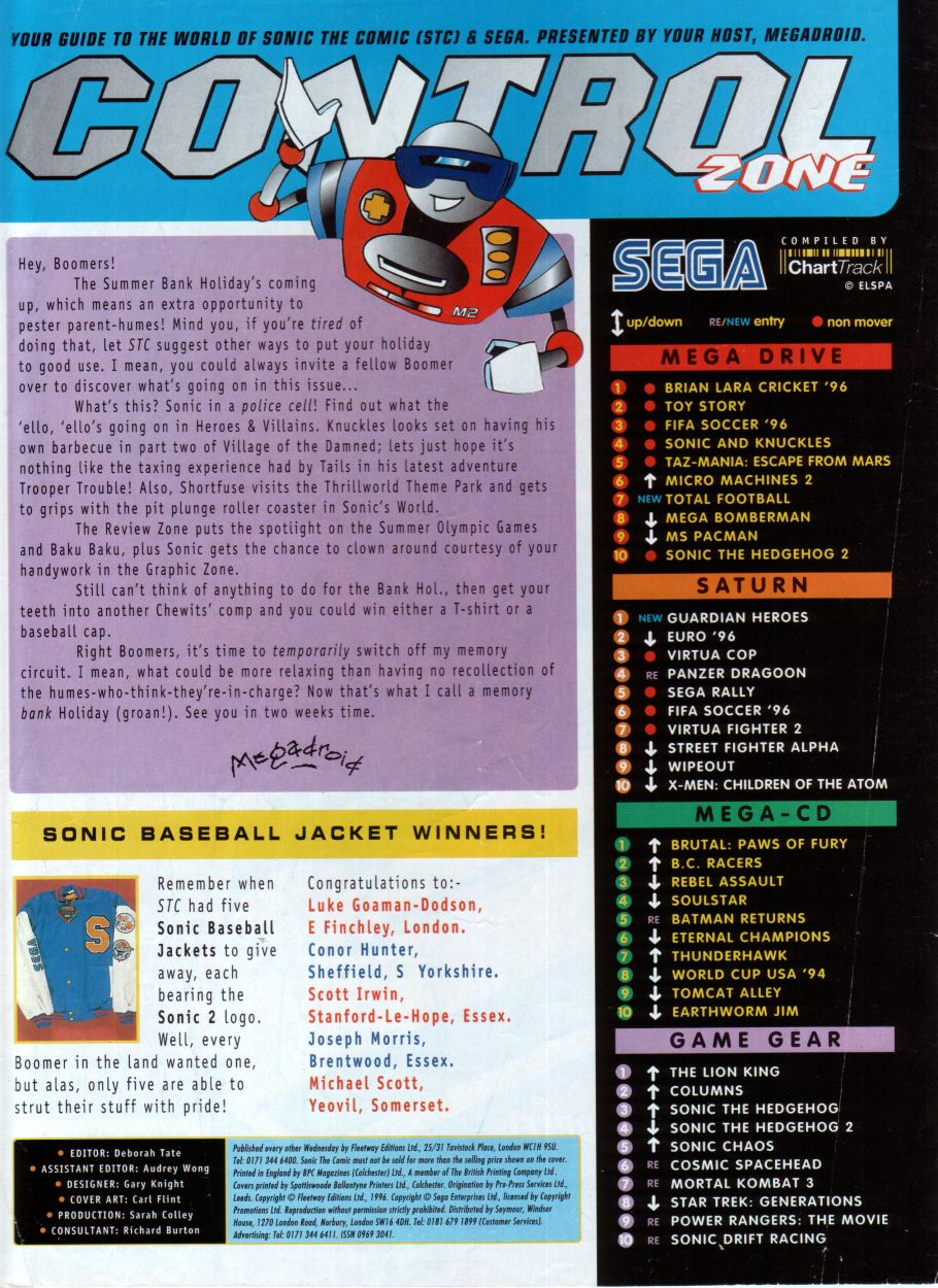 Read online Sonic the Comic comic -  Issue #85 - 2