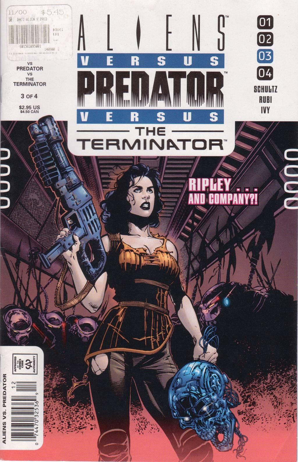 Aliens vs. Predator vs. The Terminator issue 3 - Page 1