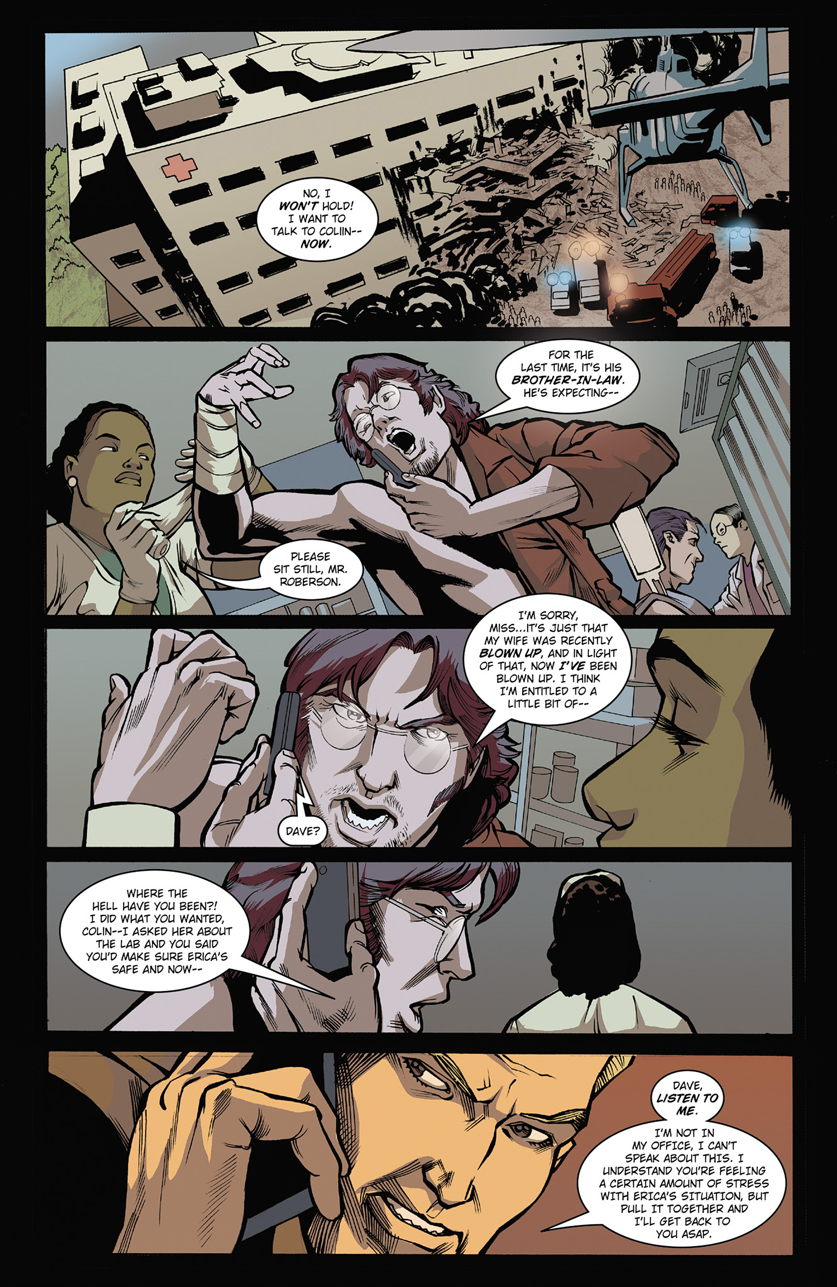 Read online Solar: Man of the Atom (2014) comic -  Issue #3 - 12