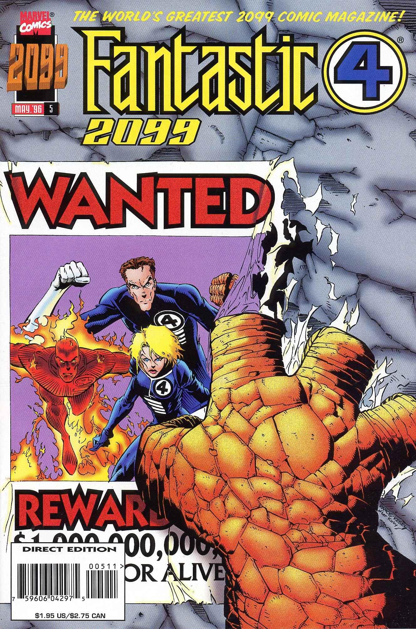 Fantastic Four 2099 5 Page 1