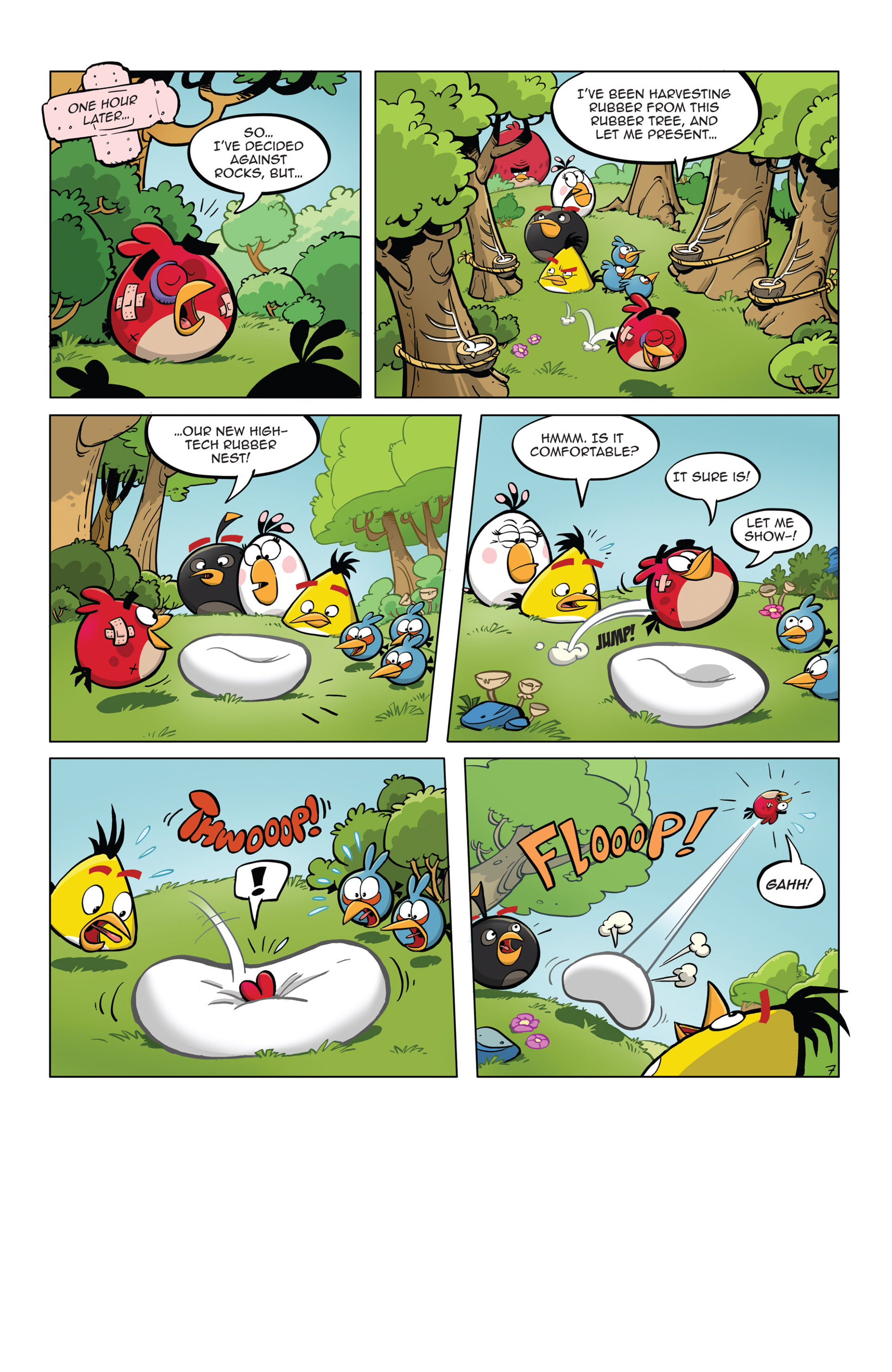 Read online Angry Birds Comics (2014) comic -  Issue #5 - 19
