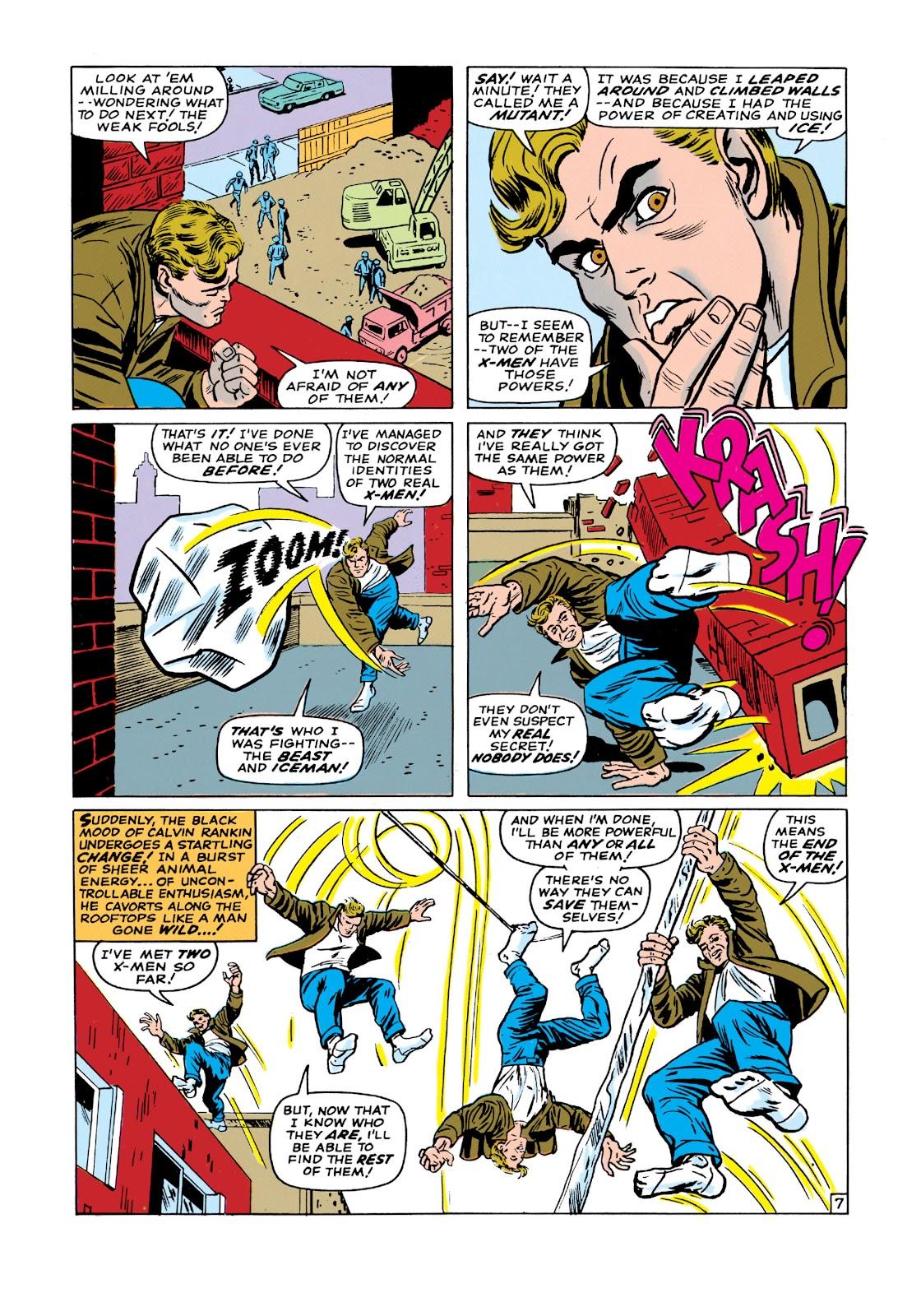 Uncanny X-Men (1963) issue 19 - Page 8