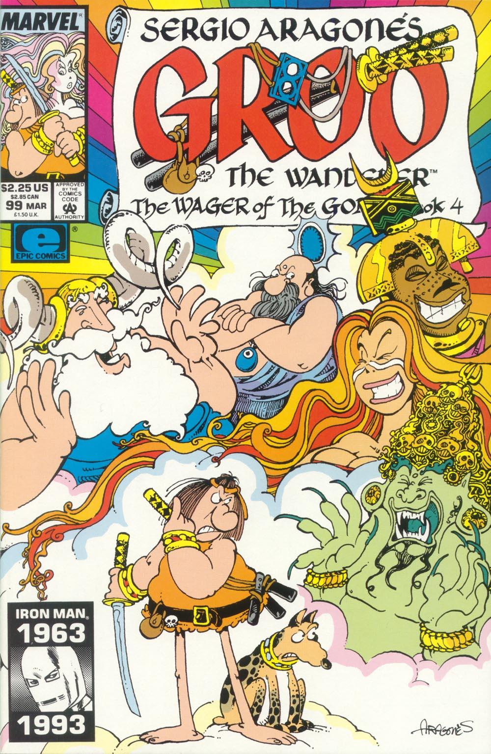 Read online Sergio Aragonés Groo the Wanderer comic -  Issue #99 - 1