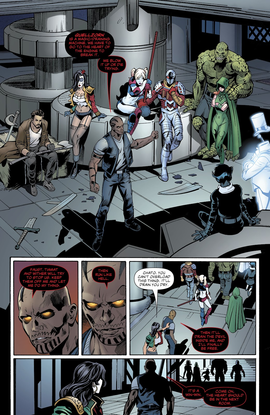 Read online Suicide Squad Black Files comic -  Issue #5 - 37