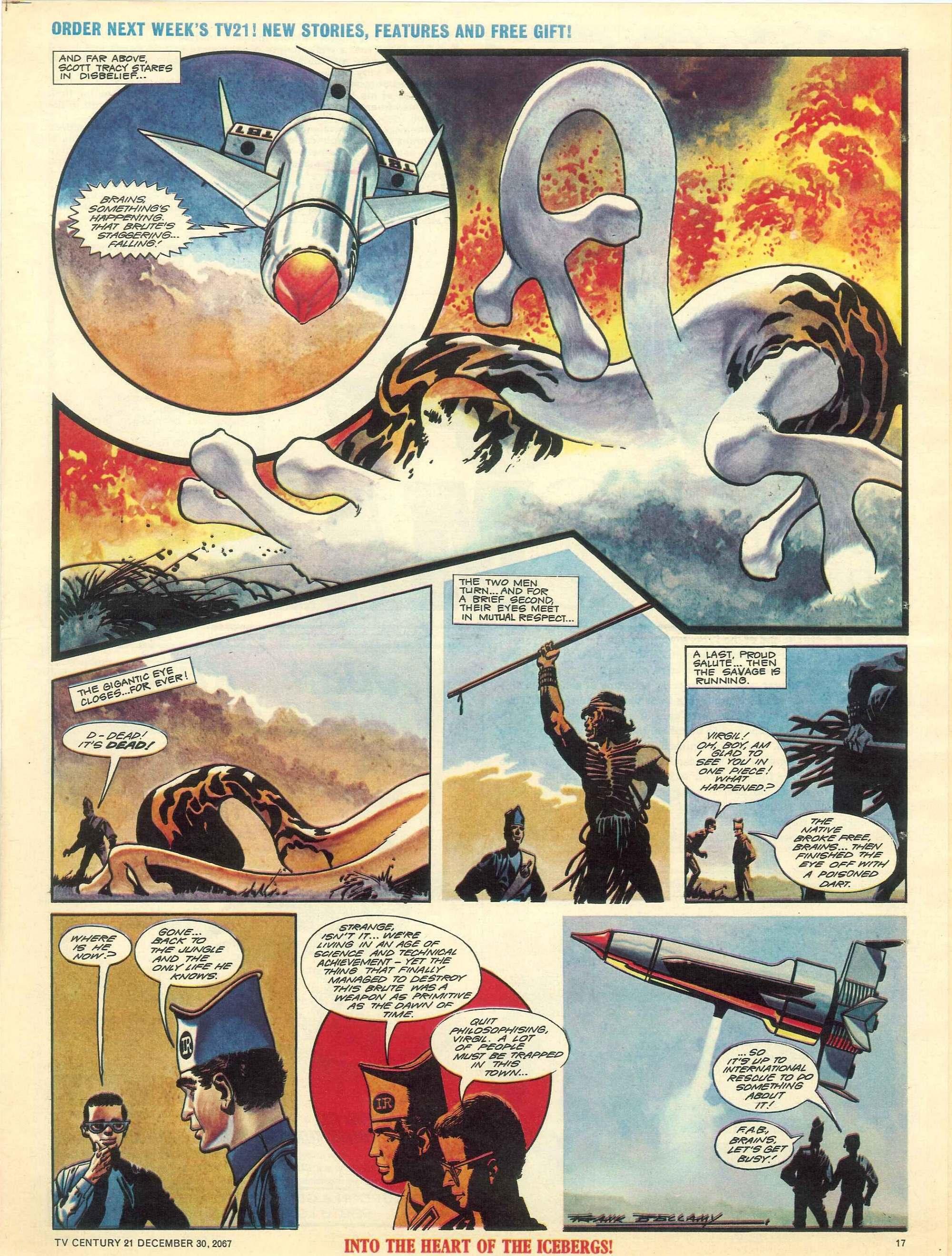 Read online TV Century 21 (TV 21) comic -  Issue #154 - 16
