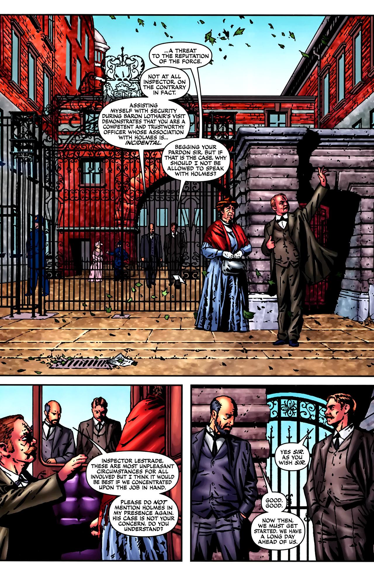 Read online Sherlock Holmes (2009) comic -  Issue #2 - 9