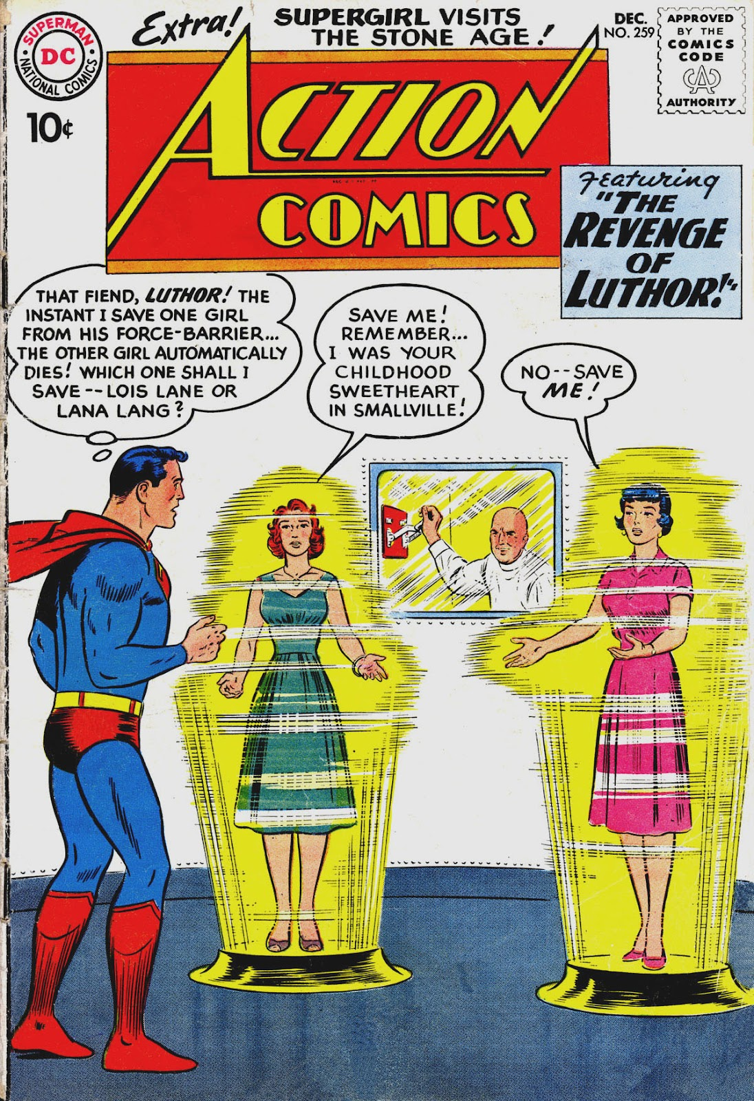 Action Comics (1938) 259 Page 1