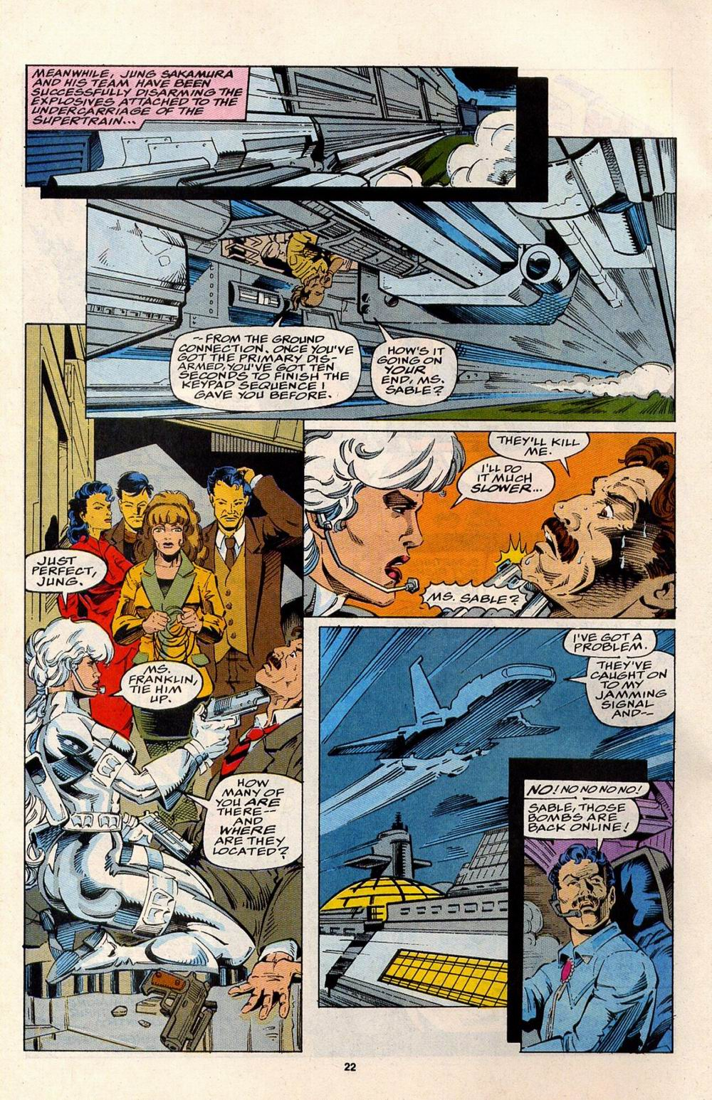 Read online Silver Sable and the Wild Pack comic -  Issue #32 - 18