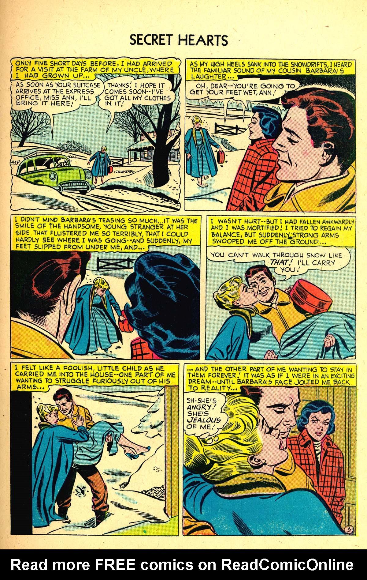 Read online Secret Hearts comic -  Issue #37 - 29