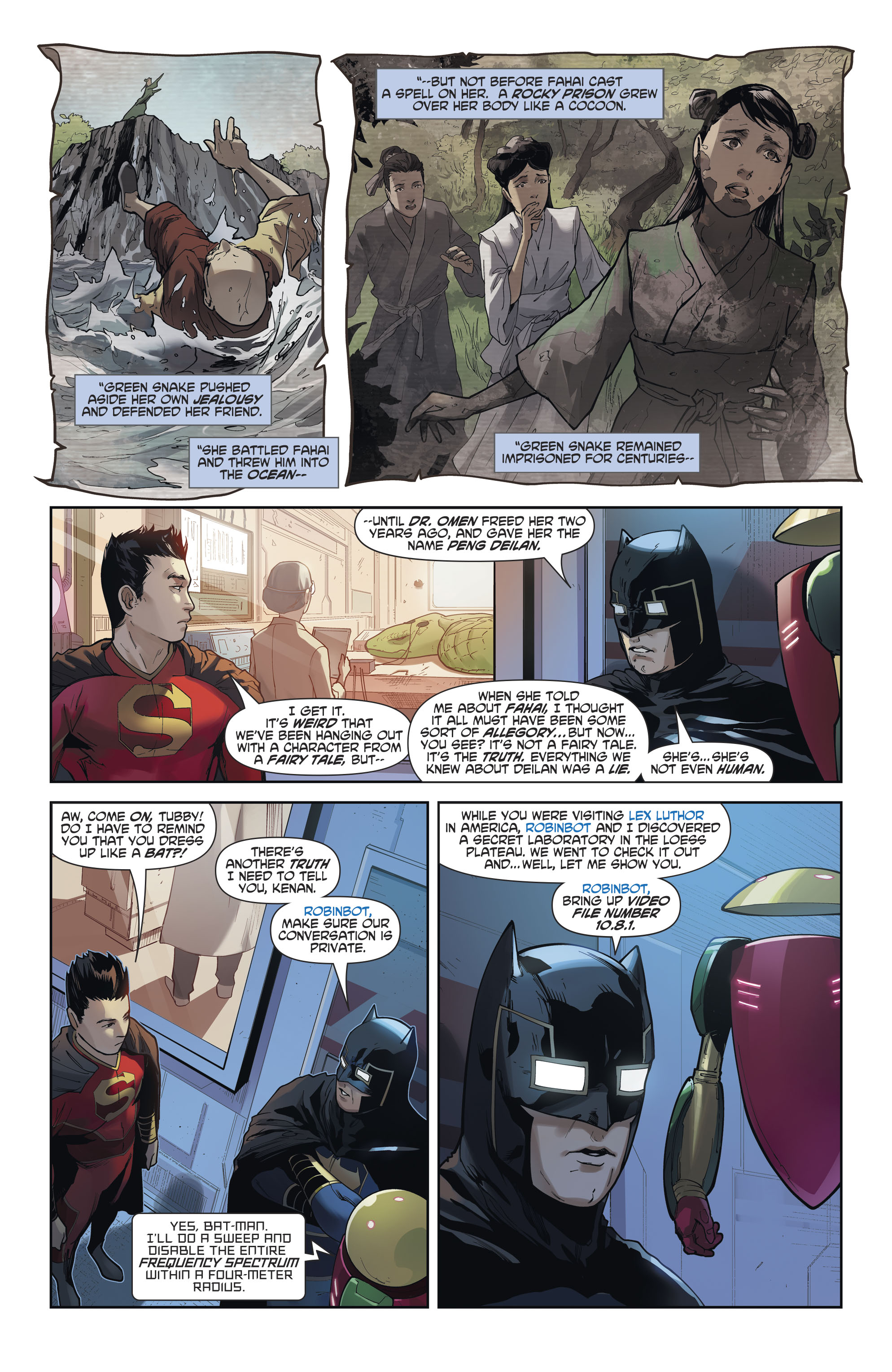 Read online New Super-Man comic -  Issue #12 - 18