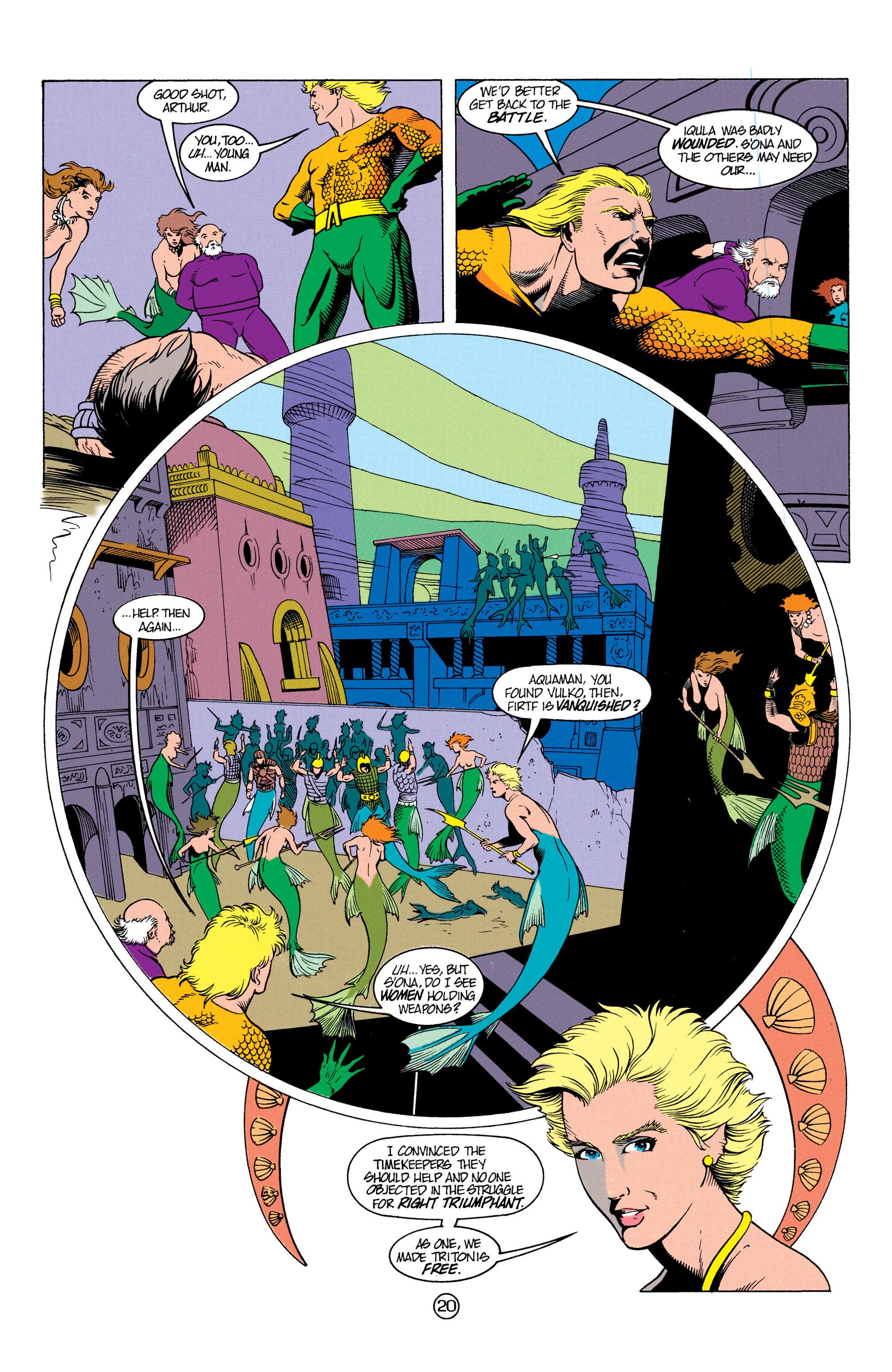 Read online Aquaman (1991) comic -  Issue #12 - 20