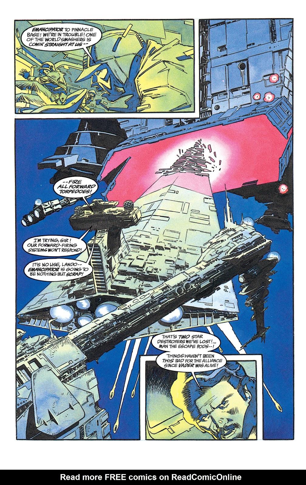 Read online Star Wars: Dark Empire Trilogy comic -  Issue # TPB (Part 1) - 64