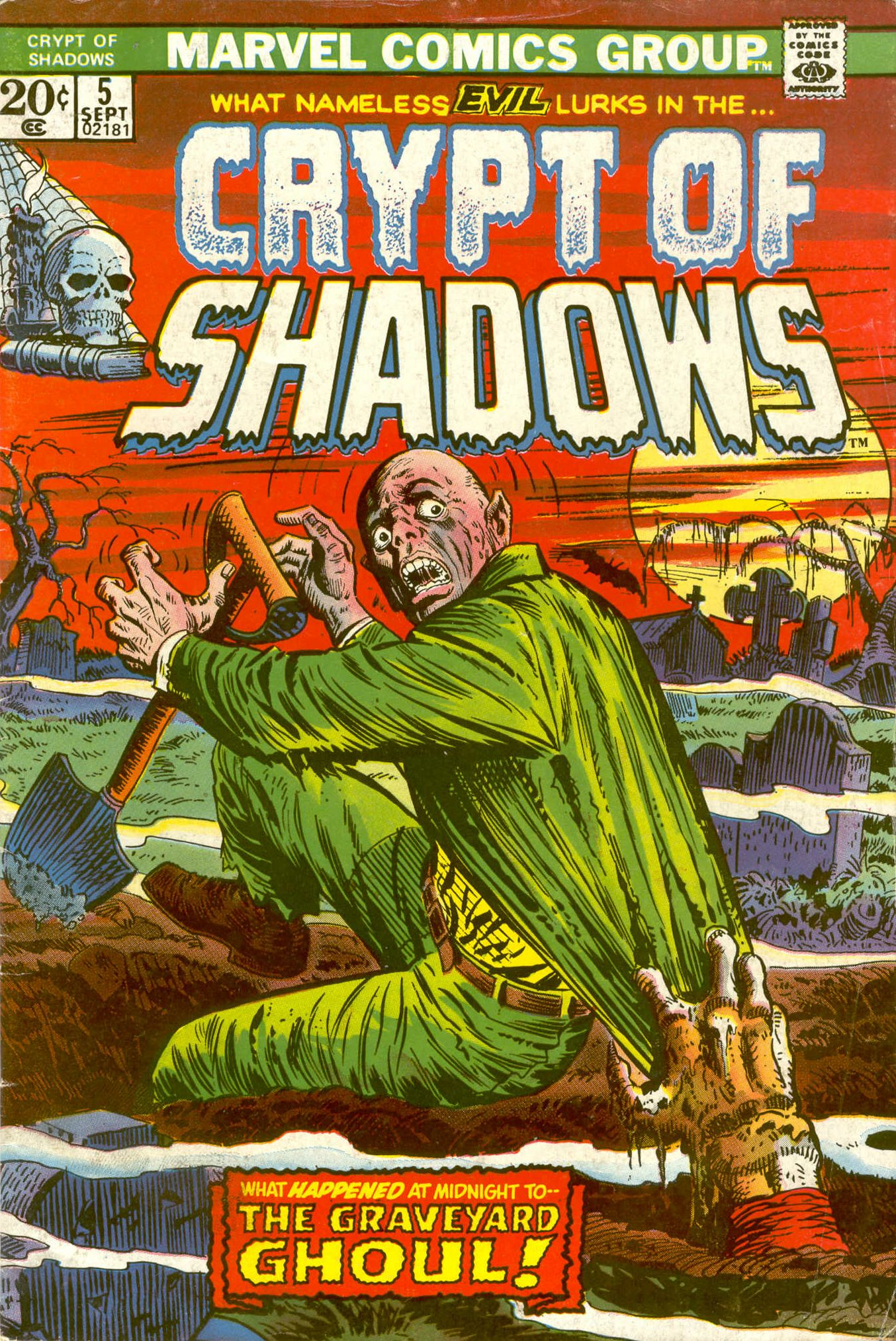 Read online Crypt of Shadows comic -  Issue #5 - 1