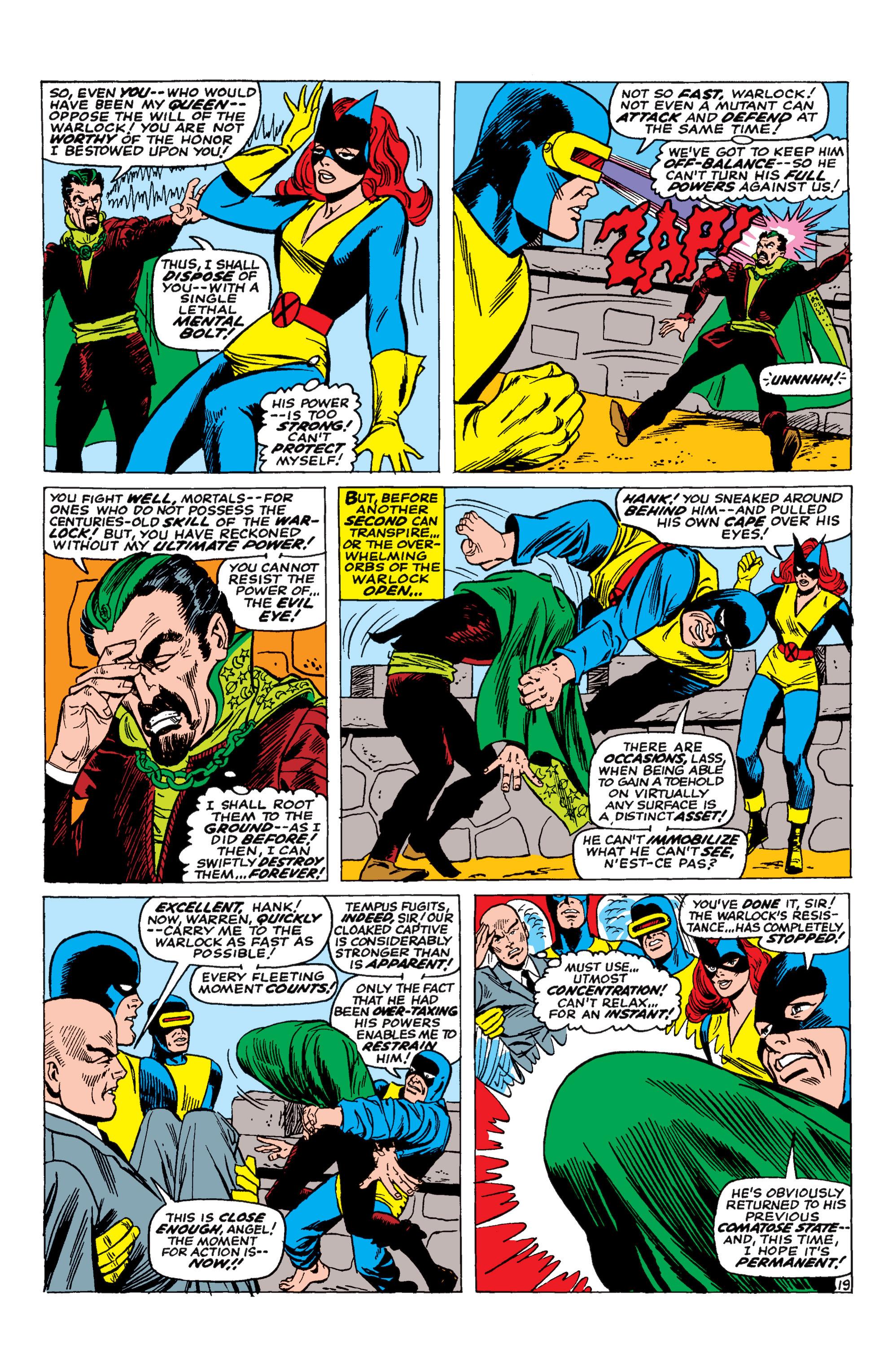 Uncanny X-Men (1963) 30 Page 19