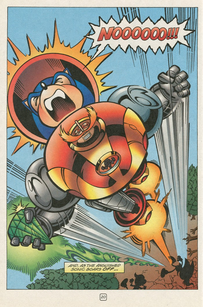 Read online Sonic Super Special comic -  Issue #12 - Sonic and Knuckles visa versa - 37