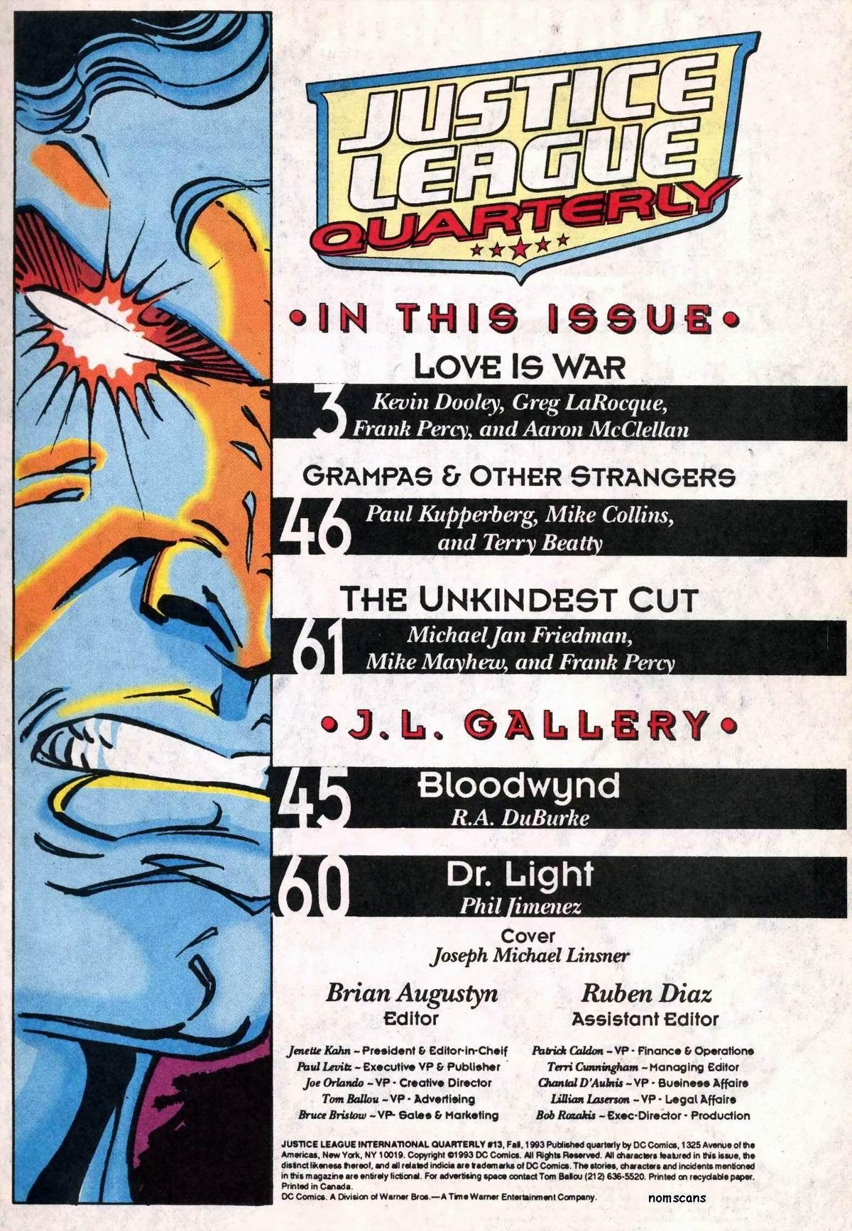 Justice League Quarterly 13 Page 2