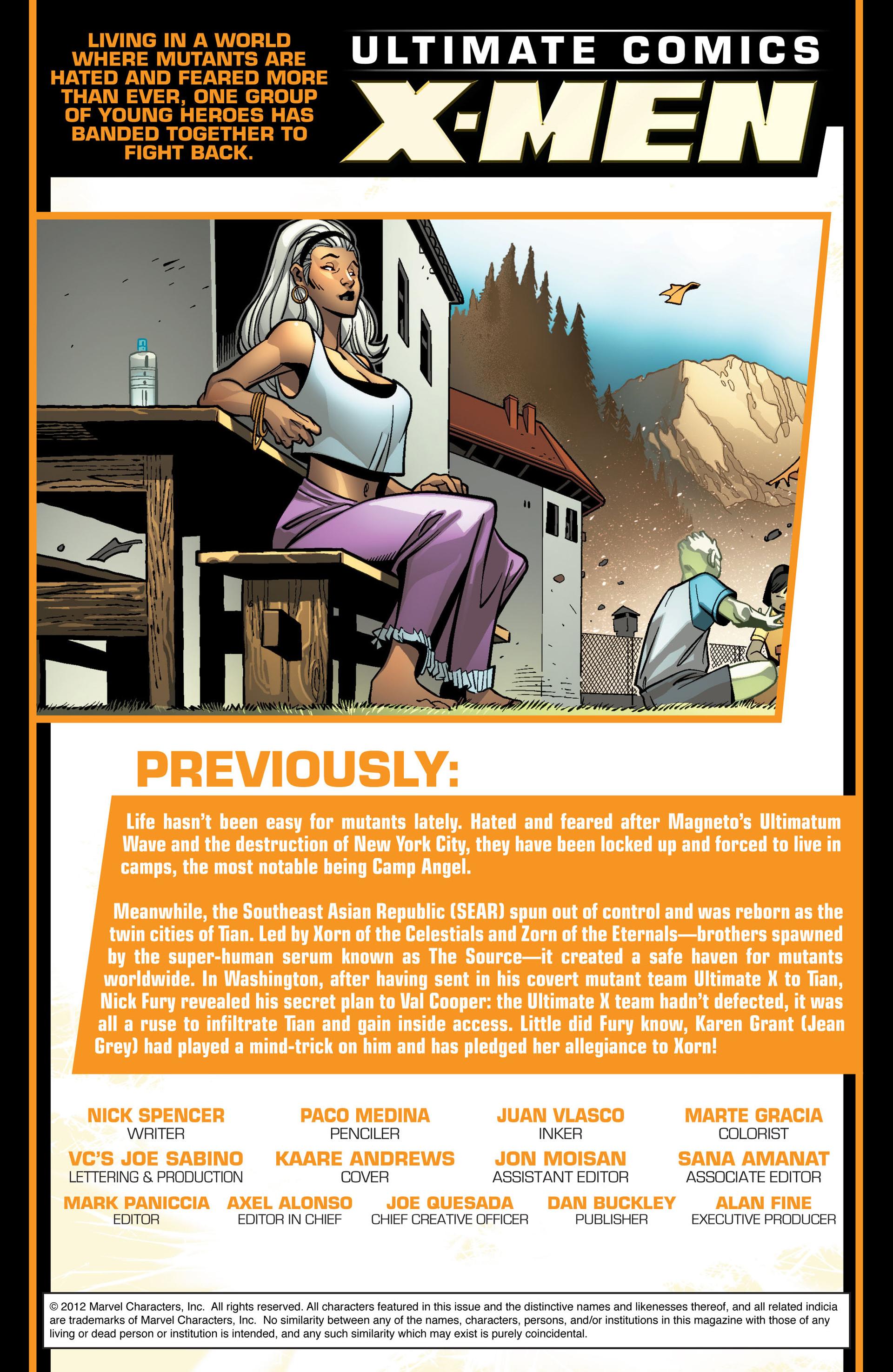Read online Ultimate Comics X-Men comic -  Issue #9 - 2