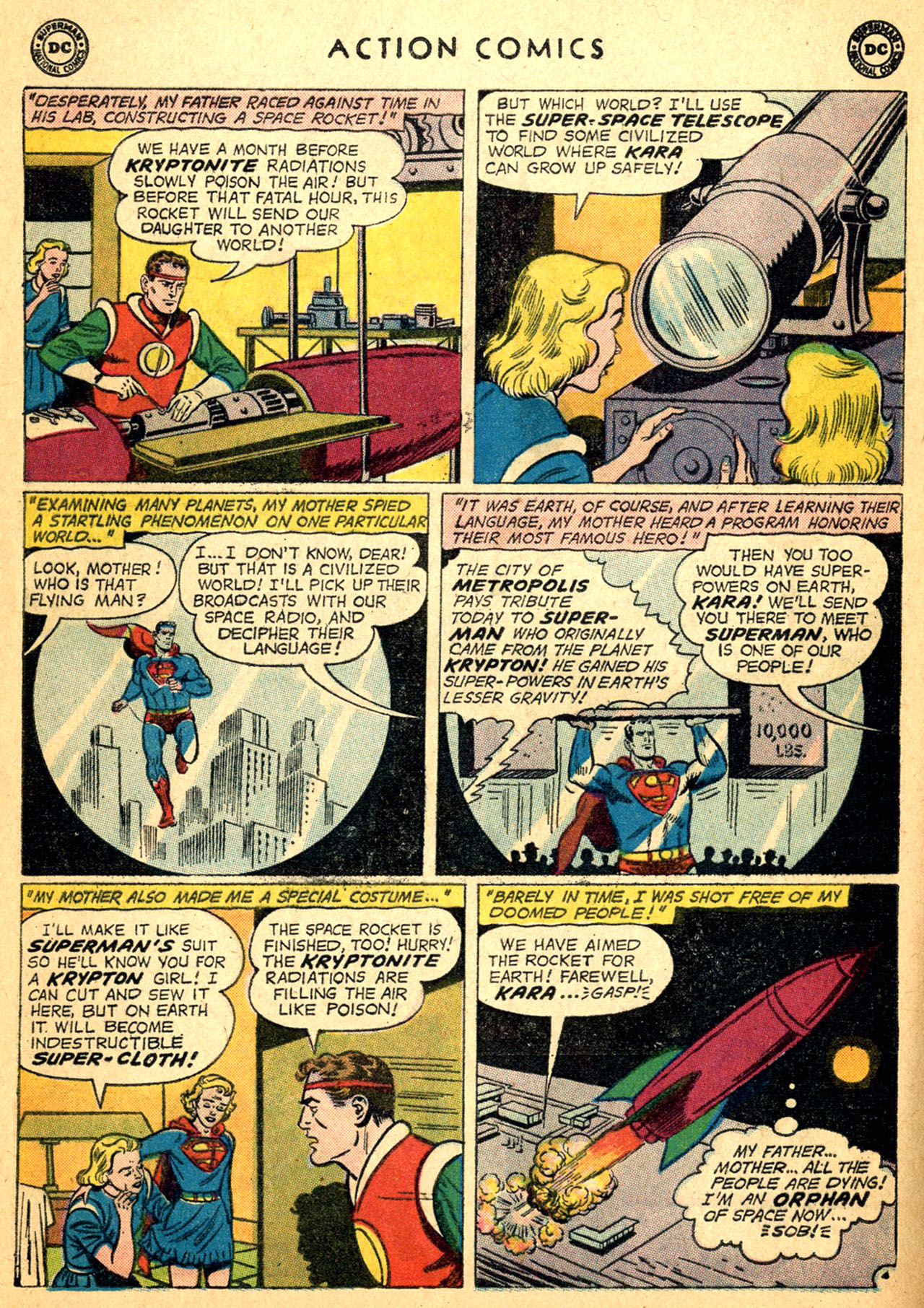 Read online Action Comics (1938) comic -  Issue #252 - 28