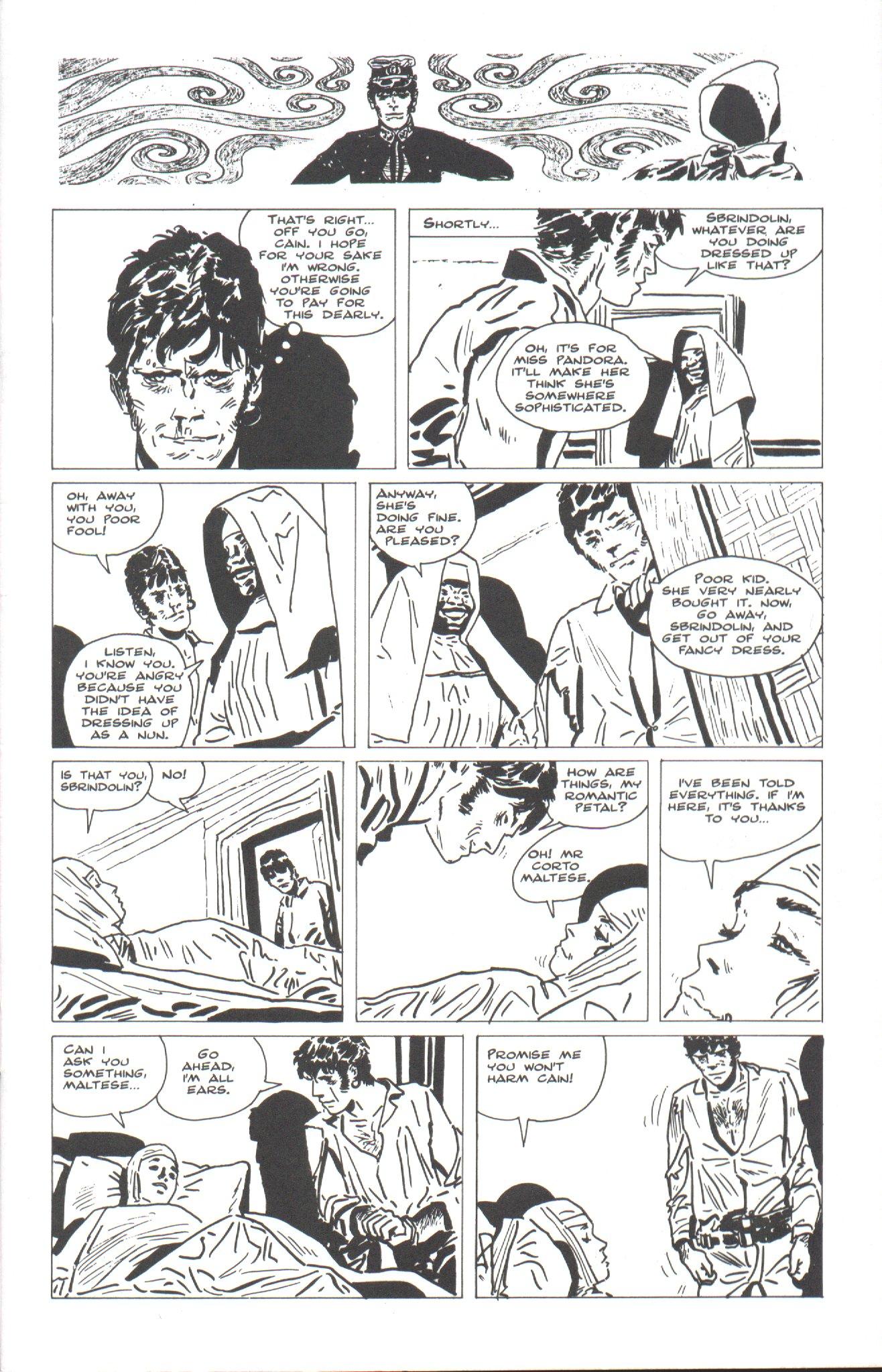 Read online Corto Maltese: Ballad of the Salt Sea comic -  Issue #4 - 3