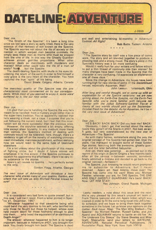 Read online Adventure Comics (1938) comic -  Issue #434 - 25