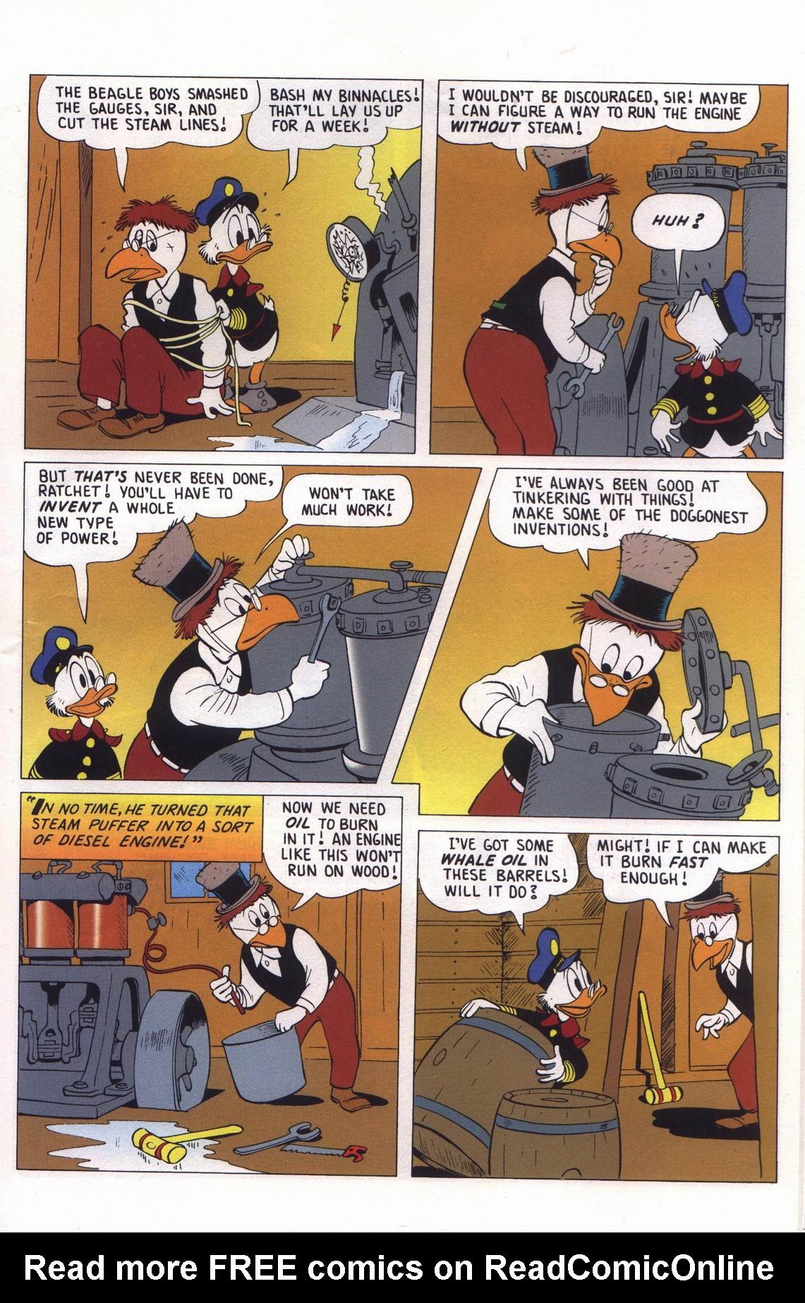 Read online Uncle Scrooge (1953) comic -  Issue #313 - 53