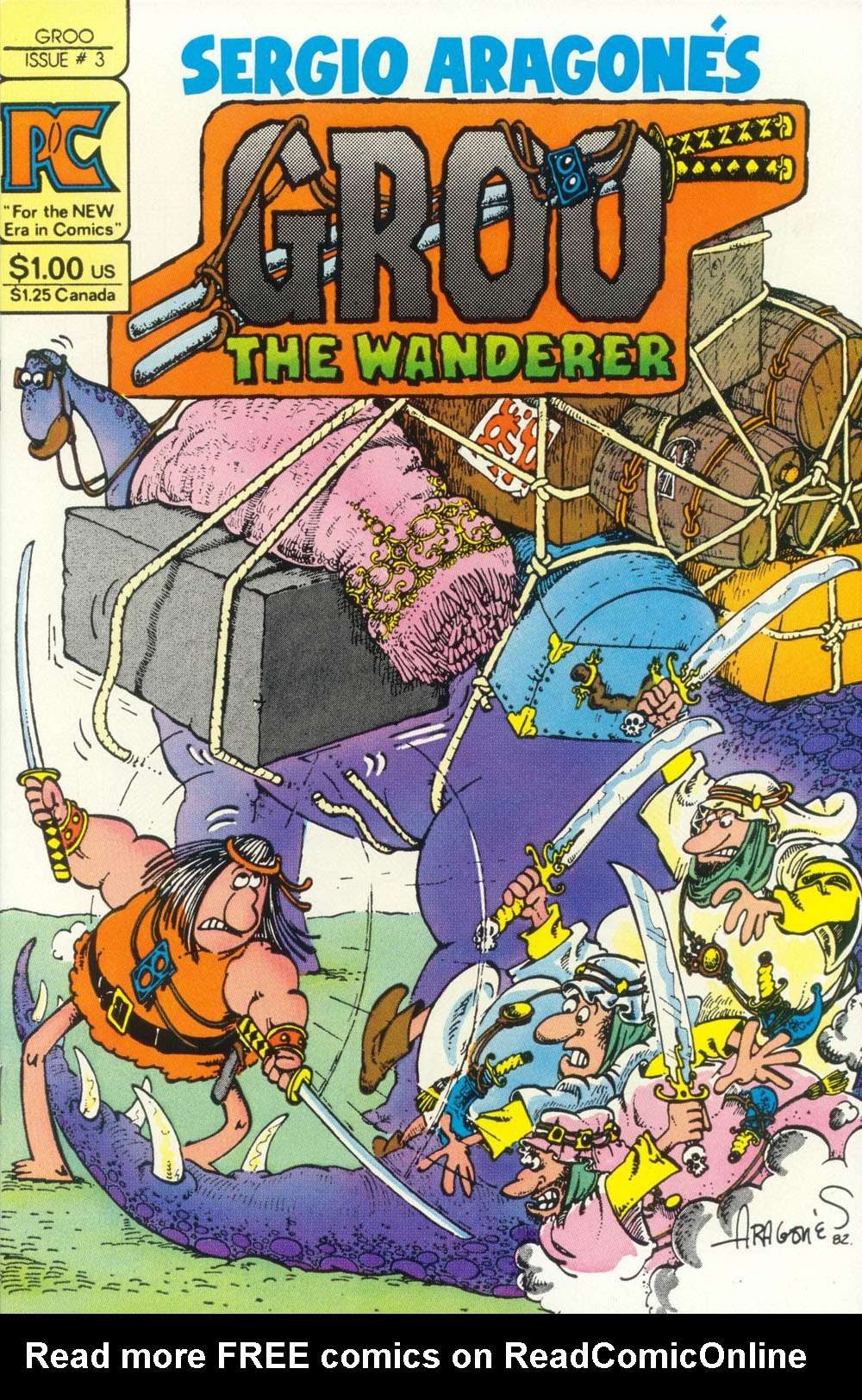 Groo the Wanderer 3 Page 1
