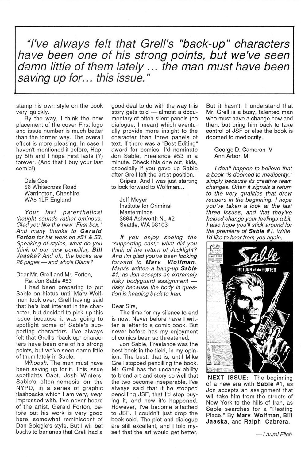 Jon Sable, Freelance issue 56 - Page 29