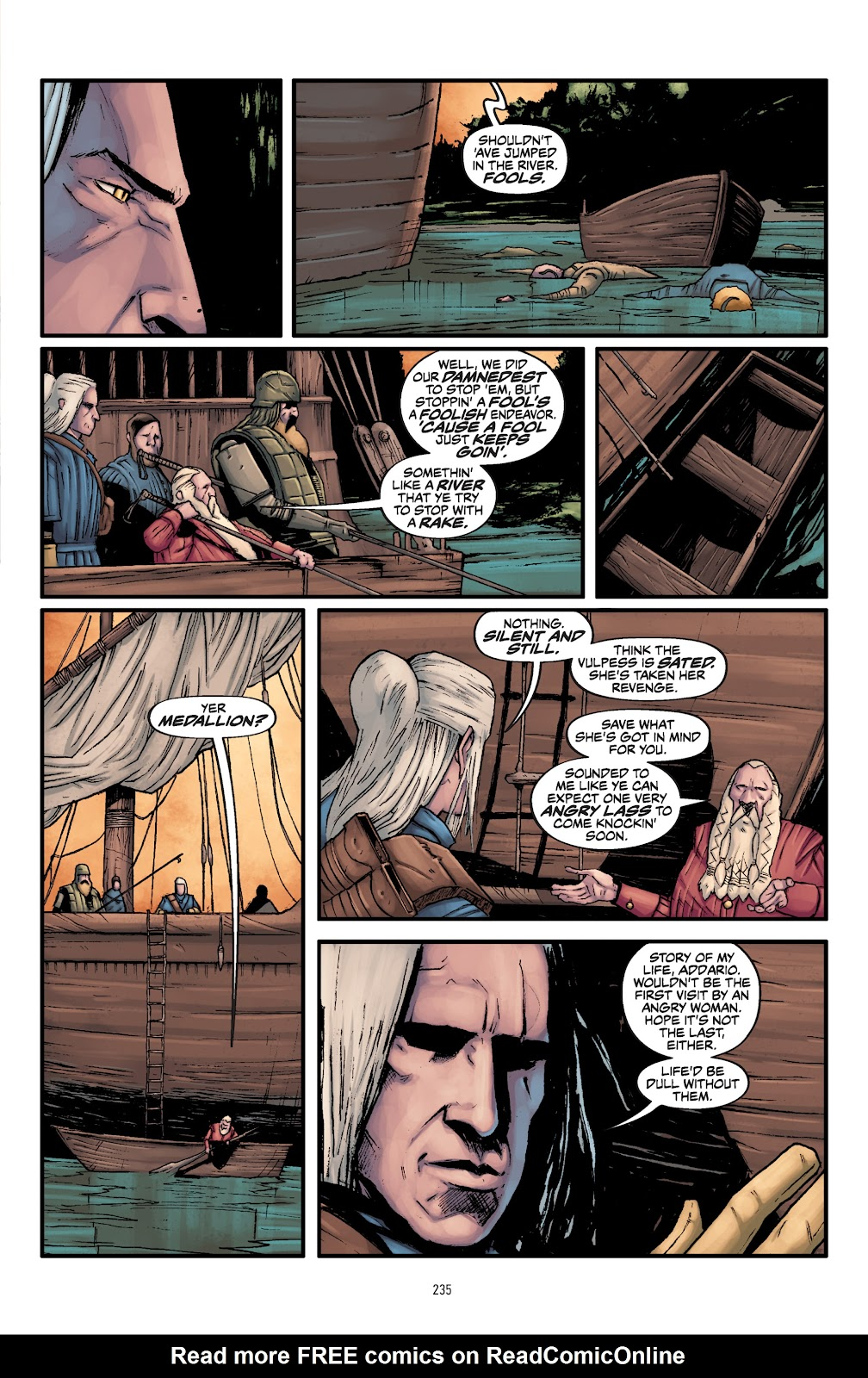 Read online The Witcher Omnibus comic -  Issue # TPB (Part 3) - 37