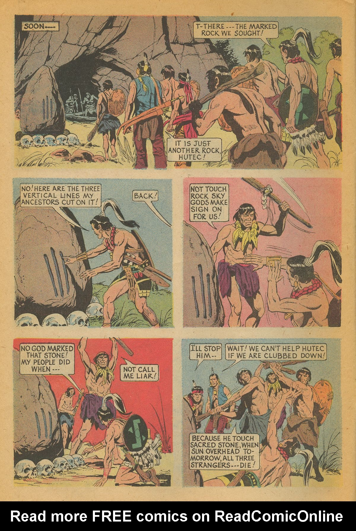 Read online Turok, Son of Stone comic -  Issue #85 - 10