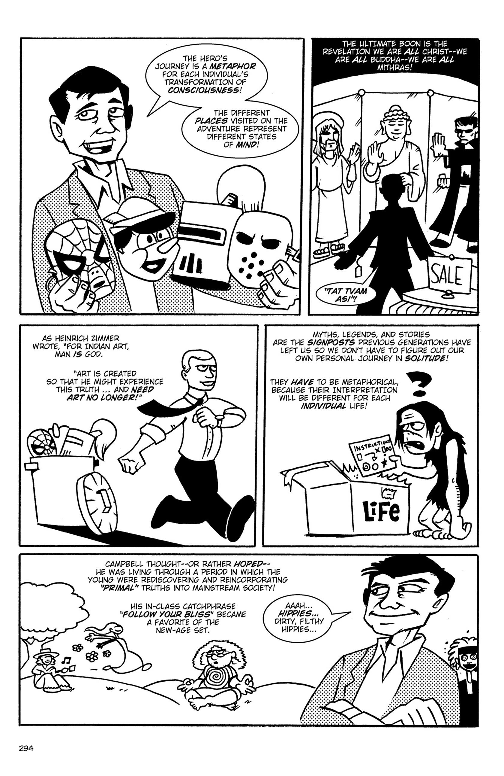 Read online Action Philosophers! comic -  Issue #Action Philosophers! TPB (Part 2) - 121