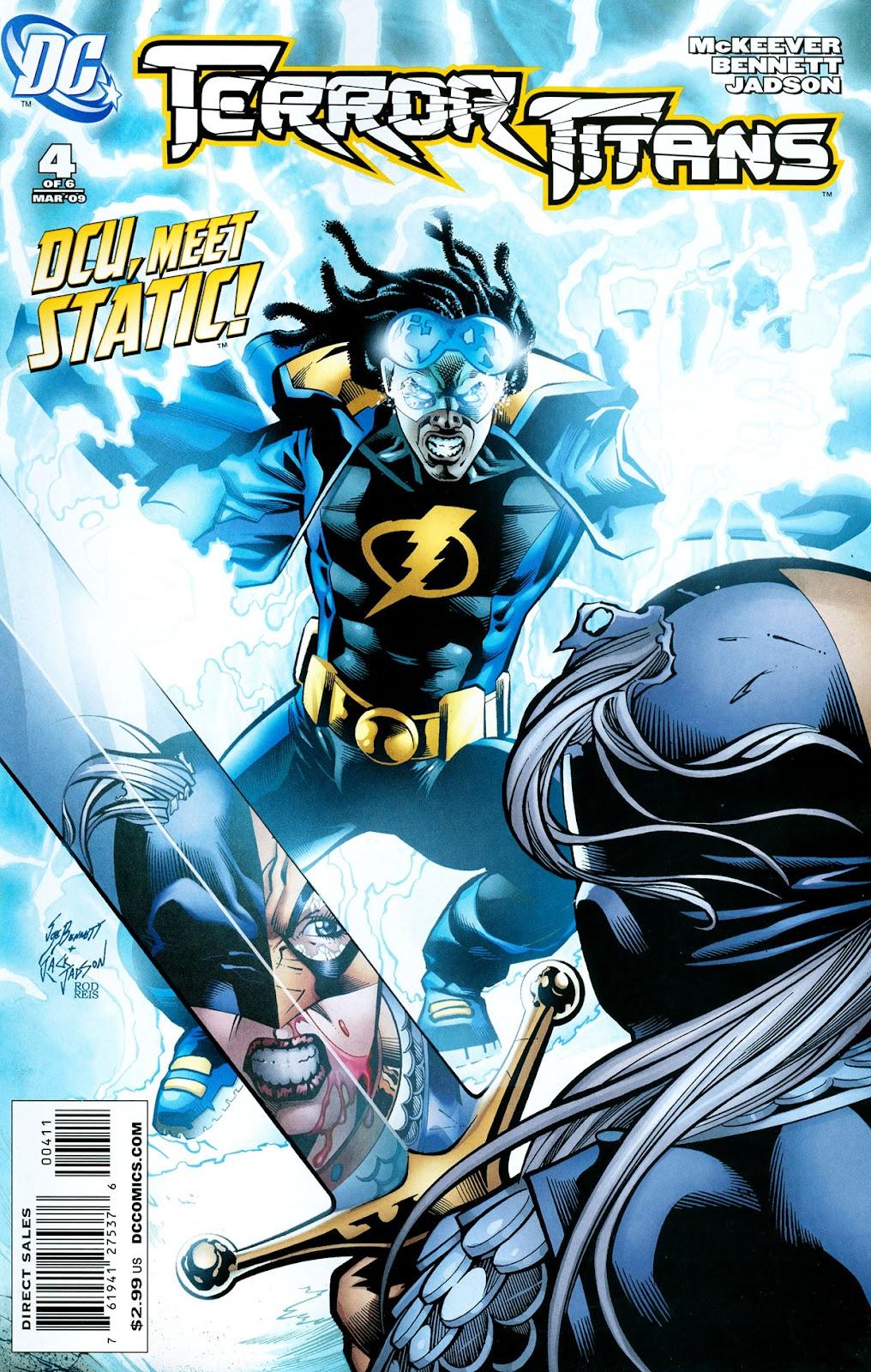 Terror Titans issue 4 - Page 1