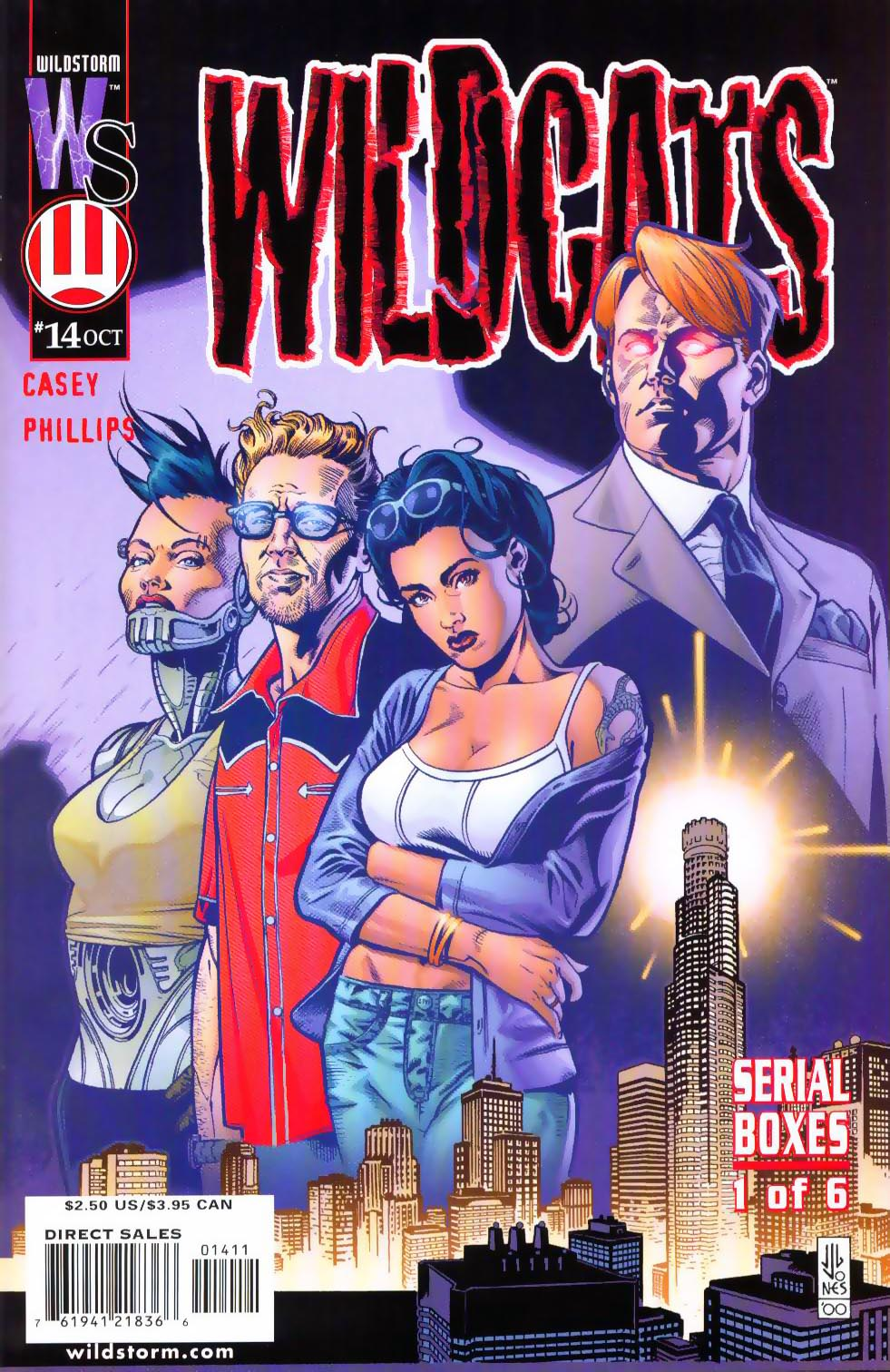 Wildcats (1999) Issue #14 #15 - English 2