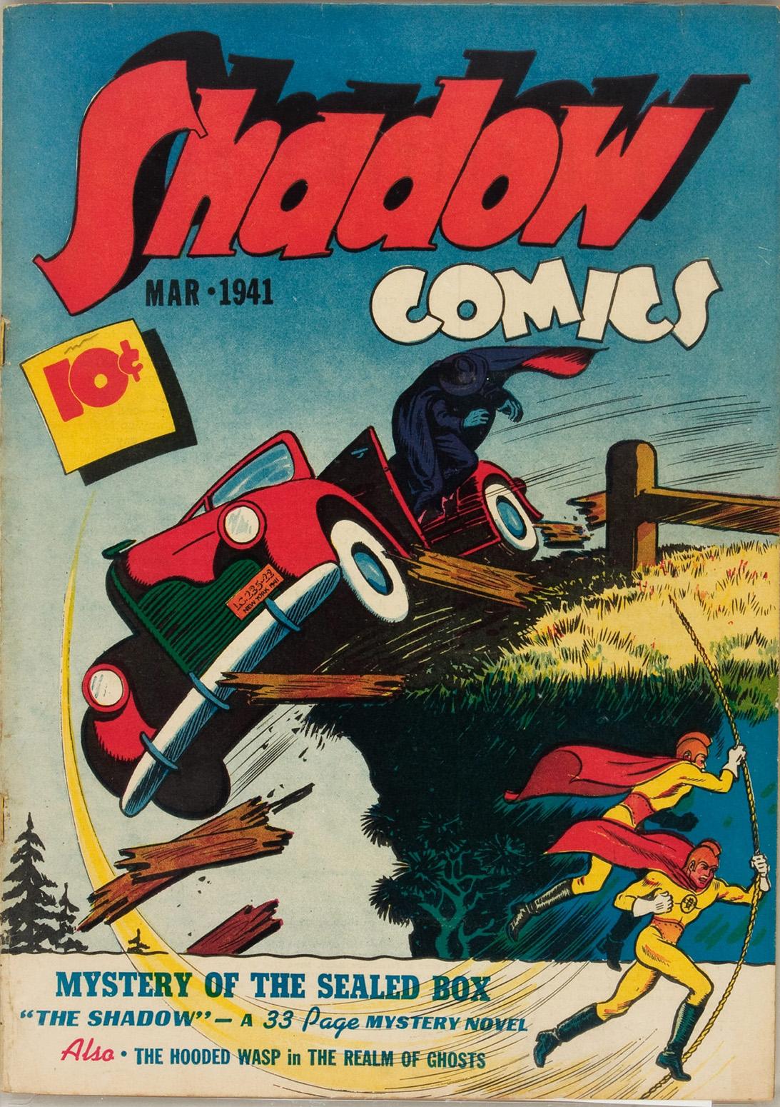 Read online Shadow Comics comic -  Issue #9 - 1
