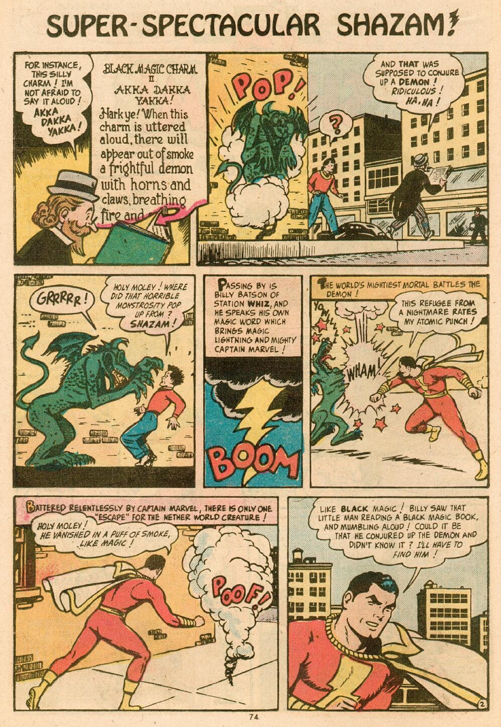 Read online Shazam! (1973) comic -  Issue #14 - 62