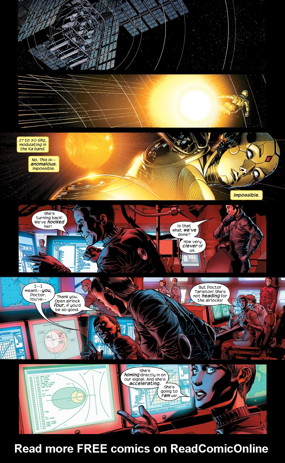Read online Ultimate Vision comic -  Issue #1 - 9