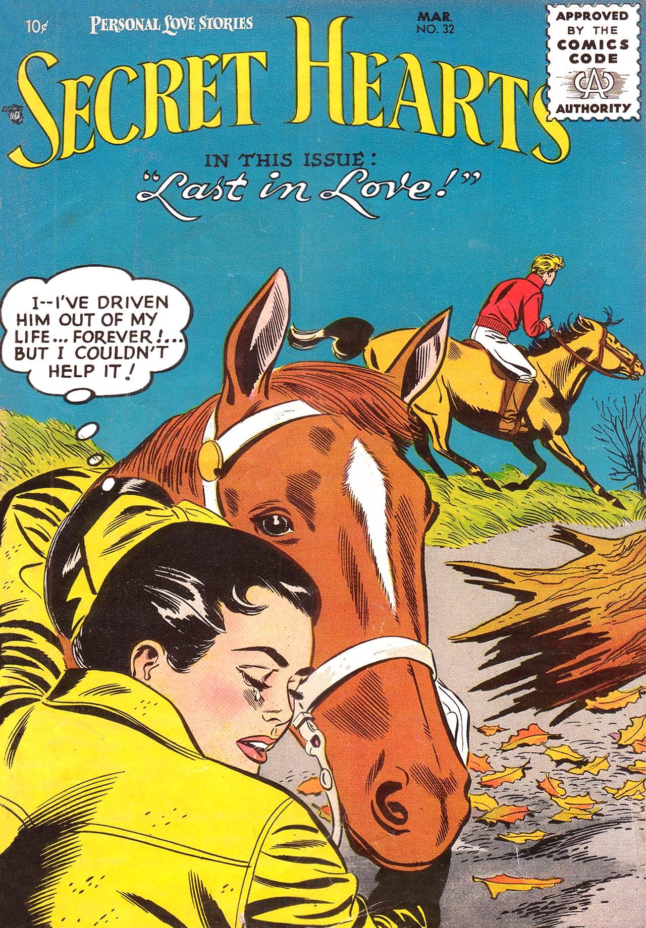 Read online Secret Hearts comic -  Issue #32 - 1