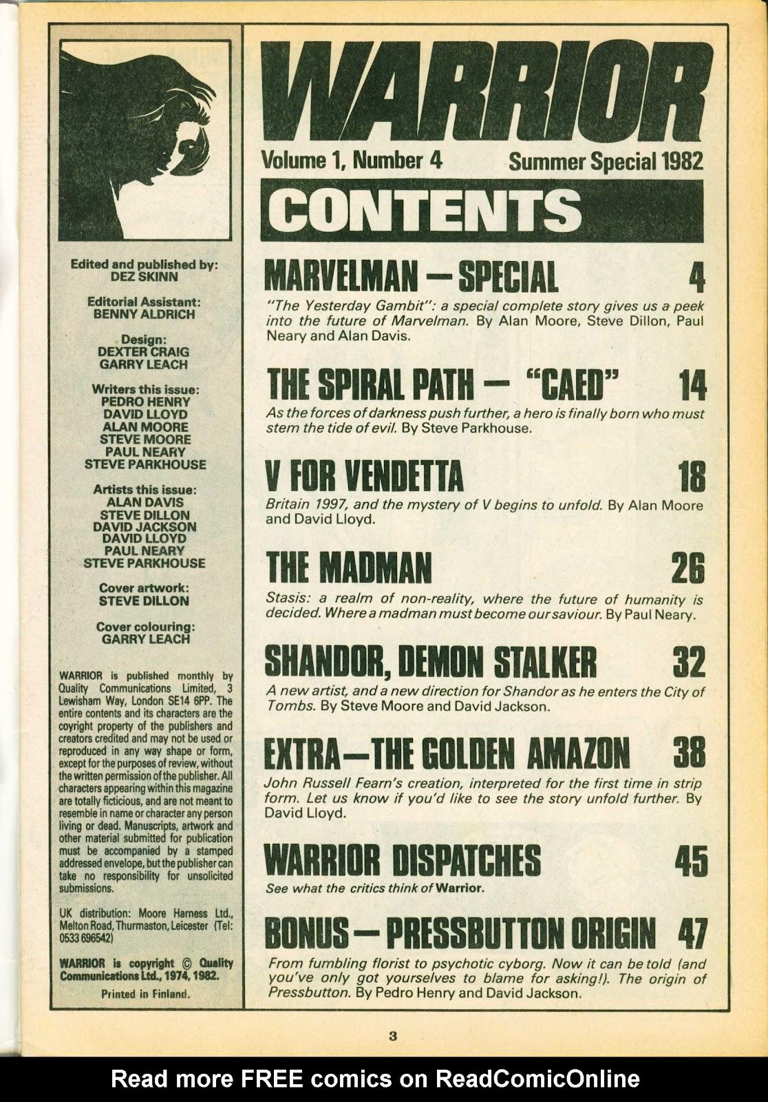 Warrior Issue #4 #5 - English 3