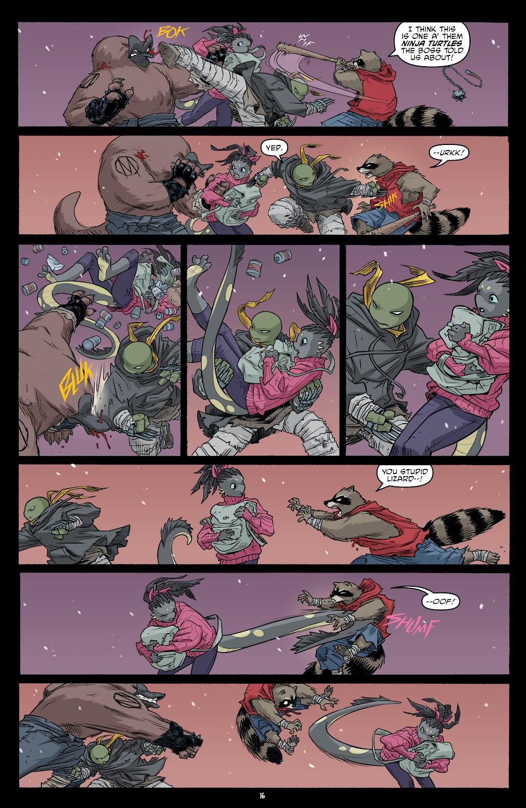 Read online Teenage Mutant Ninja Turtles (2011) comic -  Issue #101 - 18
