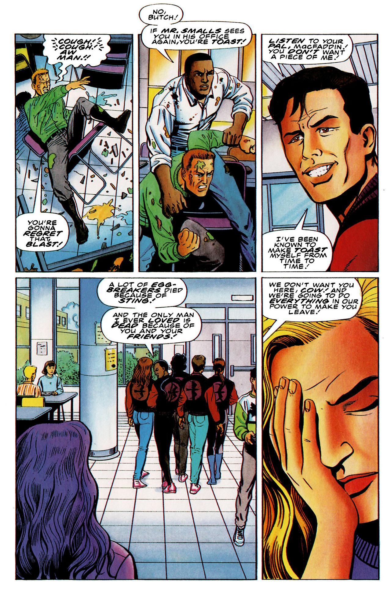Read online Harbinger (1992) comic -  Issue #26 - 19