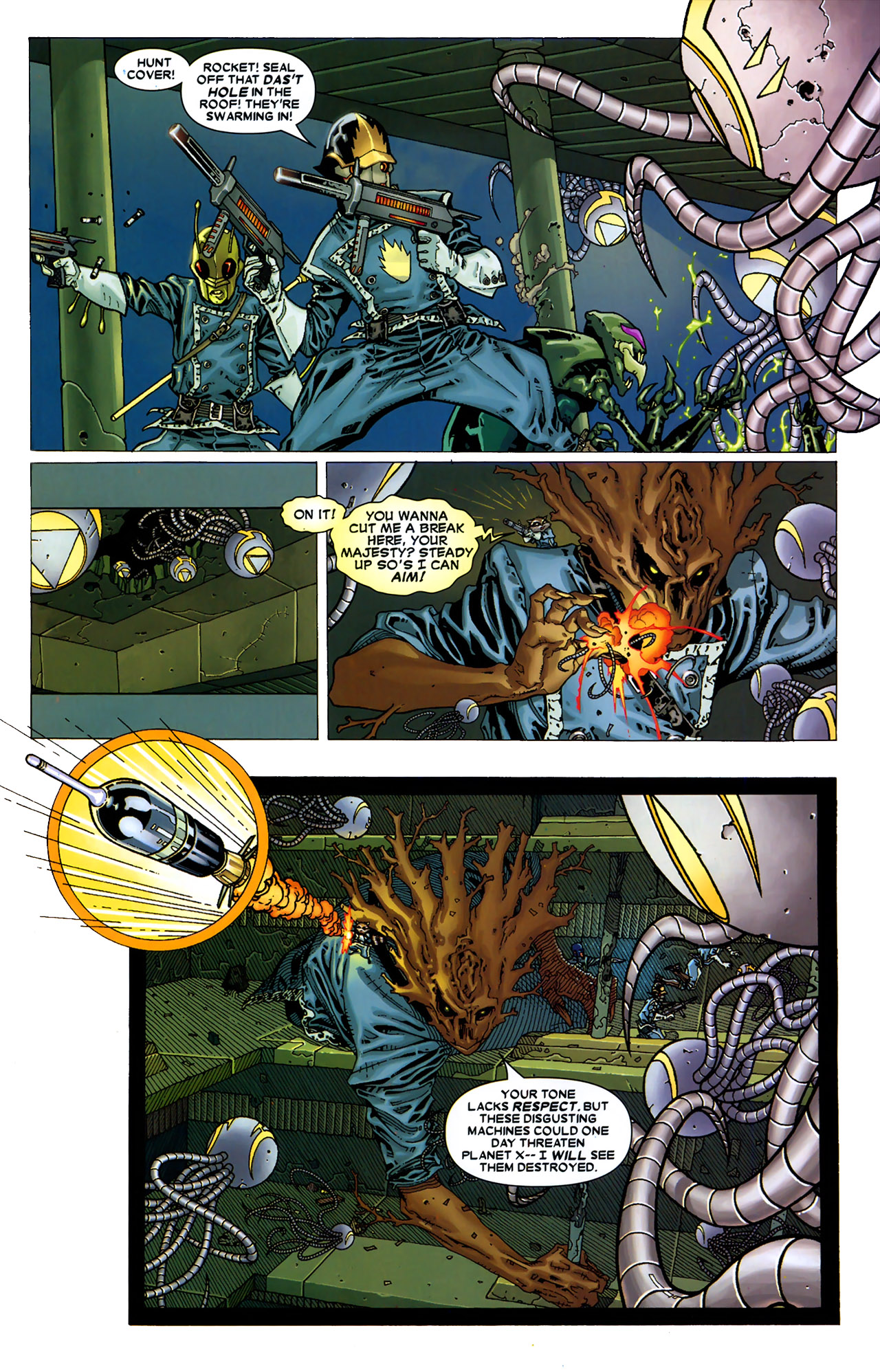 Read online Annihilation: Conquest - Starlord comic -  Issue #2 - 16