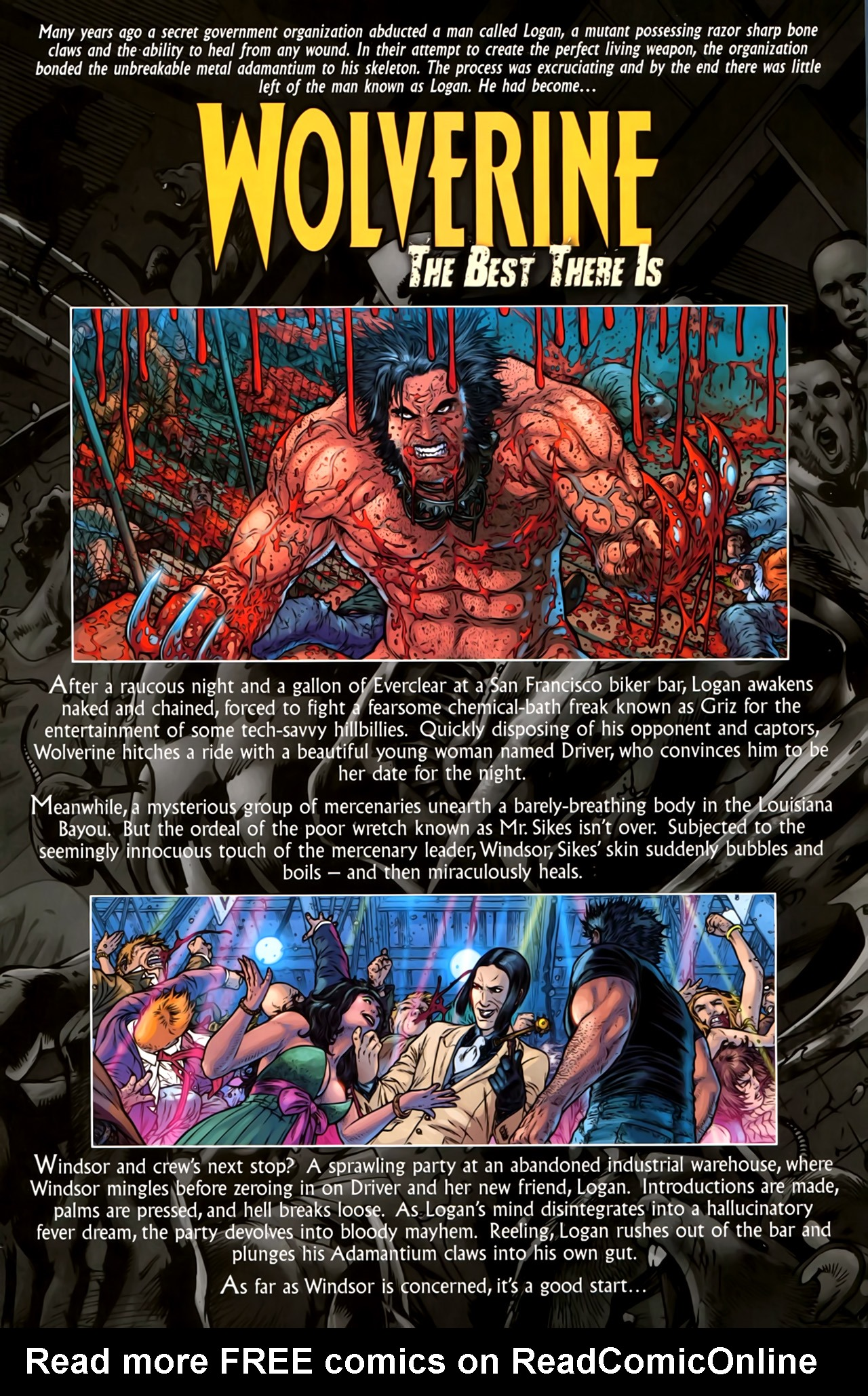 Read online Wolverine: The Best There Is comic -  Issue #2 - 2