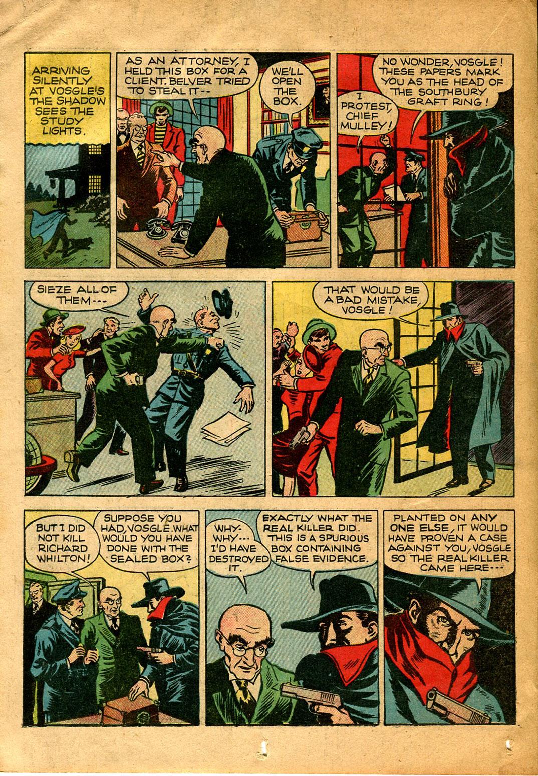Read online Shadow Comics comic -  Issue #9 - 34