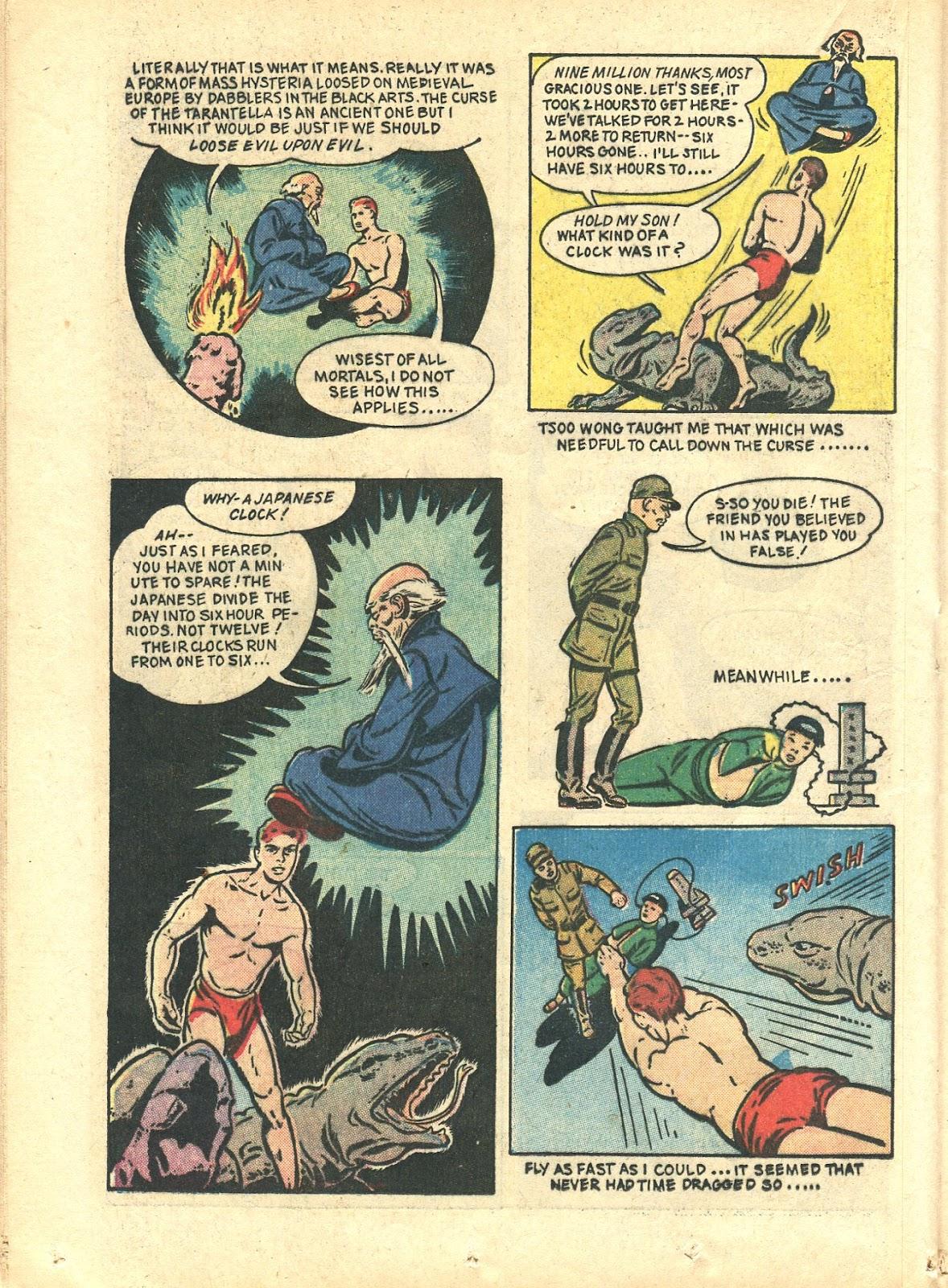 Read online Super-Magician Comics comic -  Issue #21 - 36