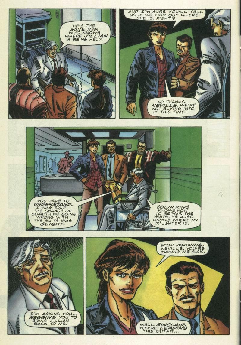 Read online Secret Weapons comic -  Issue #16 - 11